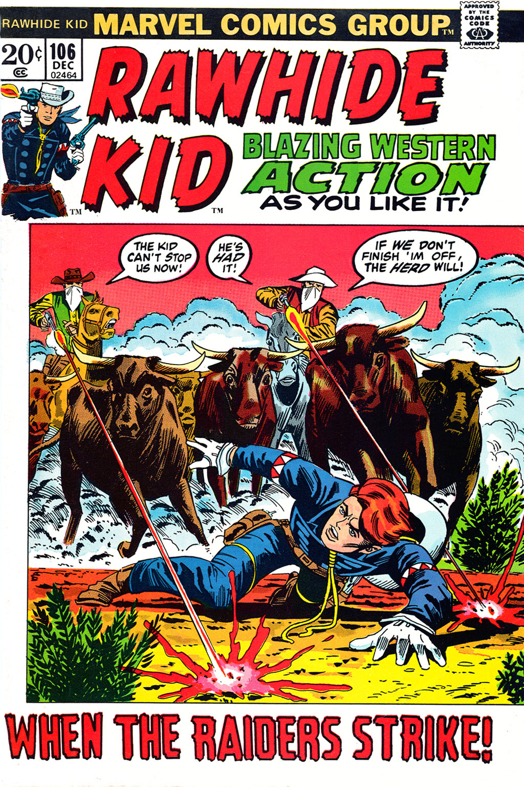 The Rawhide Kid (1955) issue 106 - Page 1