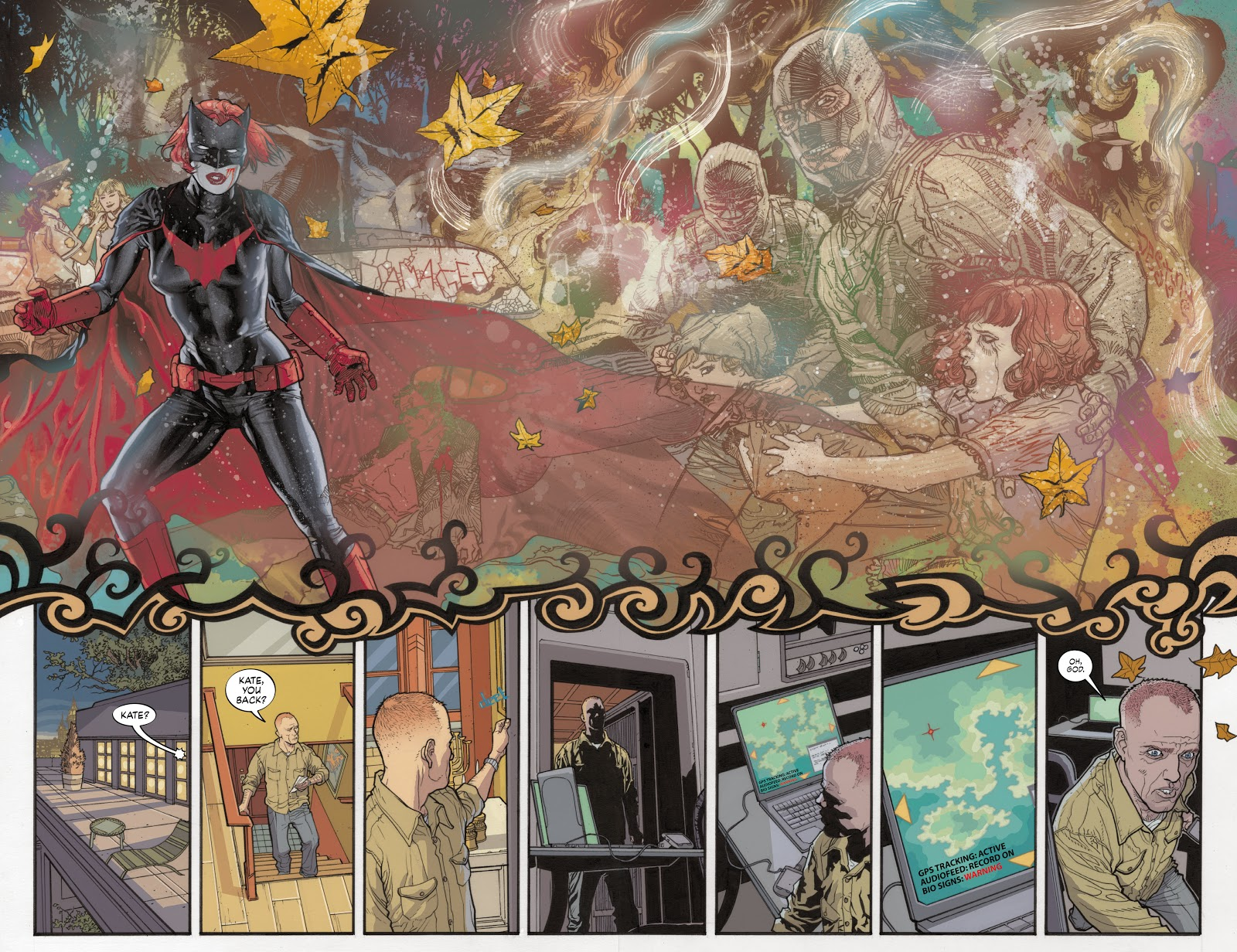 Read online Detective Comics (1937) comic -  Issue # _TPB Batwoman - Elegy (Part 1) - 38