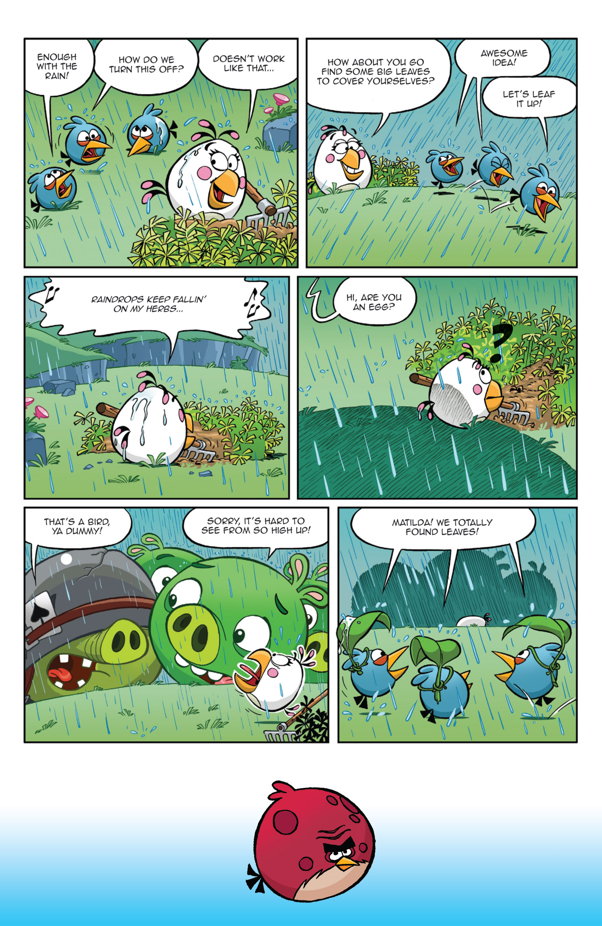 Read online Angry Birds Comics (2014) comic -  Issue #9 - 6