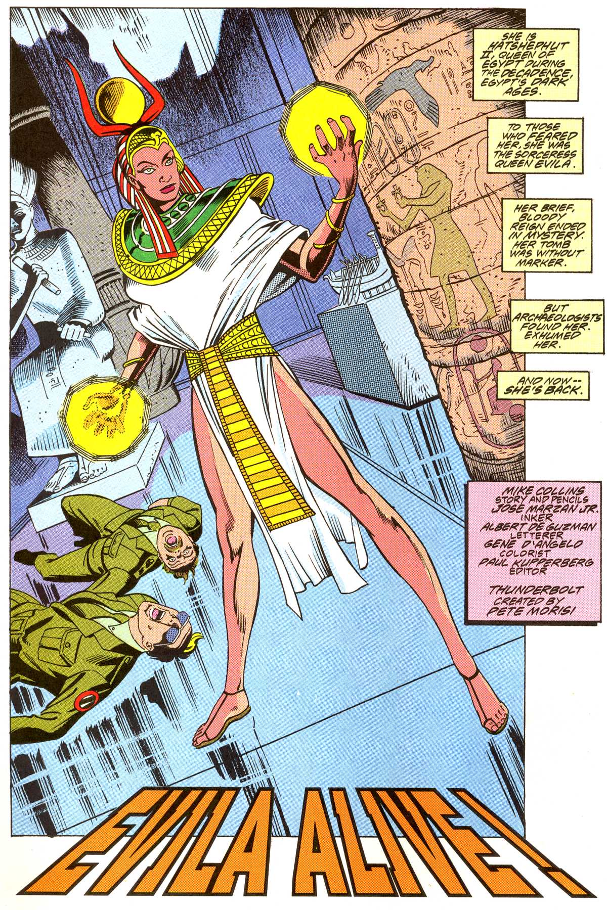 Read online Peter Cannon--Thunderbolt (1992) comic -  Issue #3 - 3