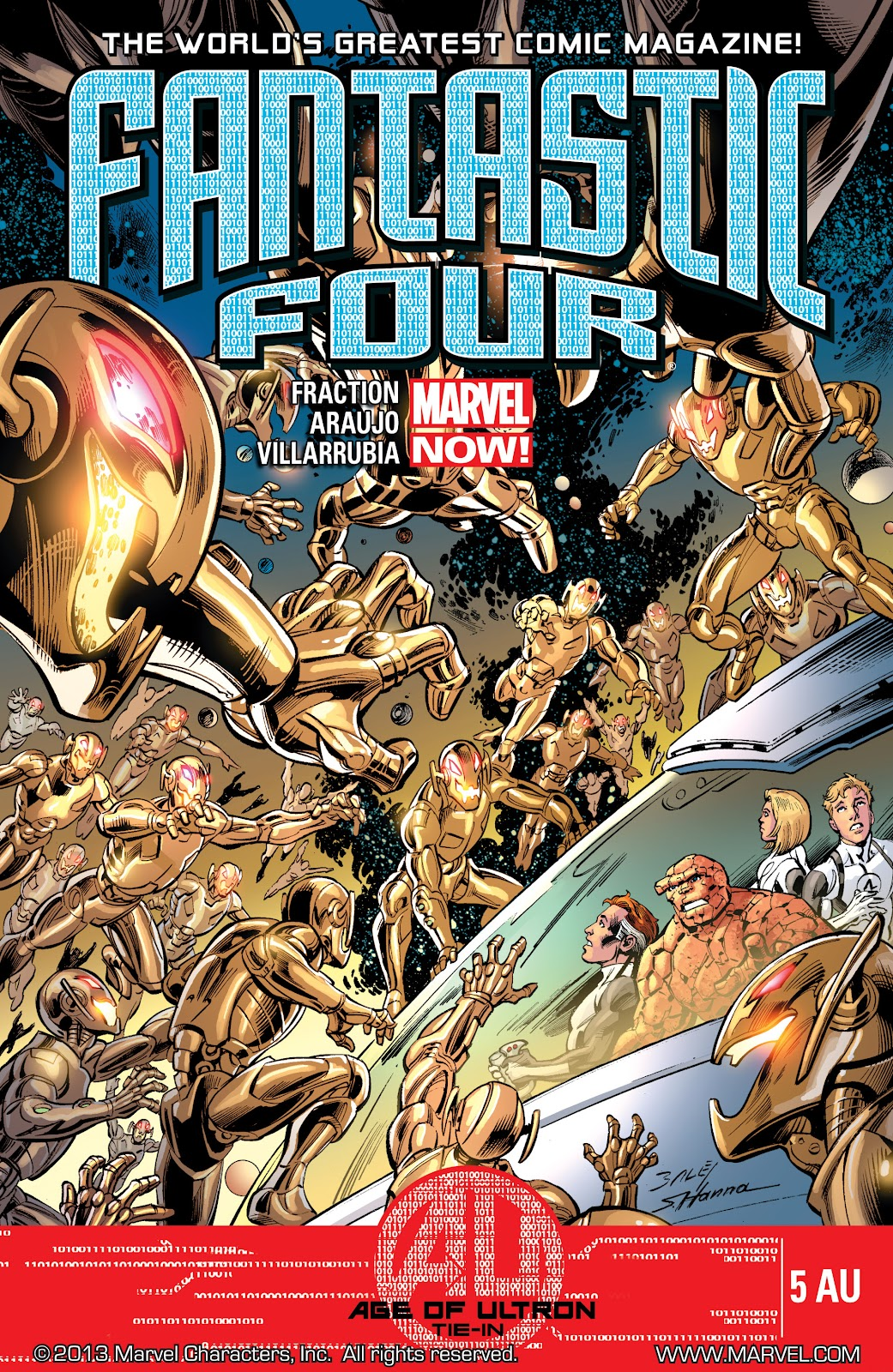 Read online Age of Ultron Companion comic -  Issue # TPB (Part 1) - 46