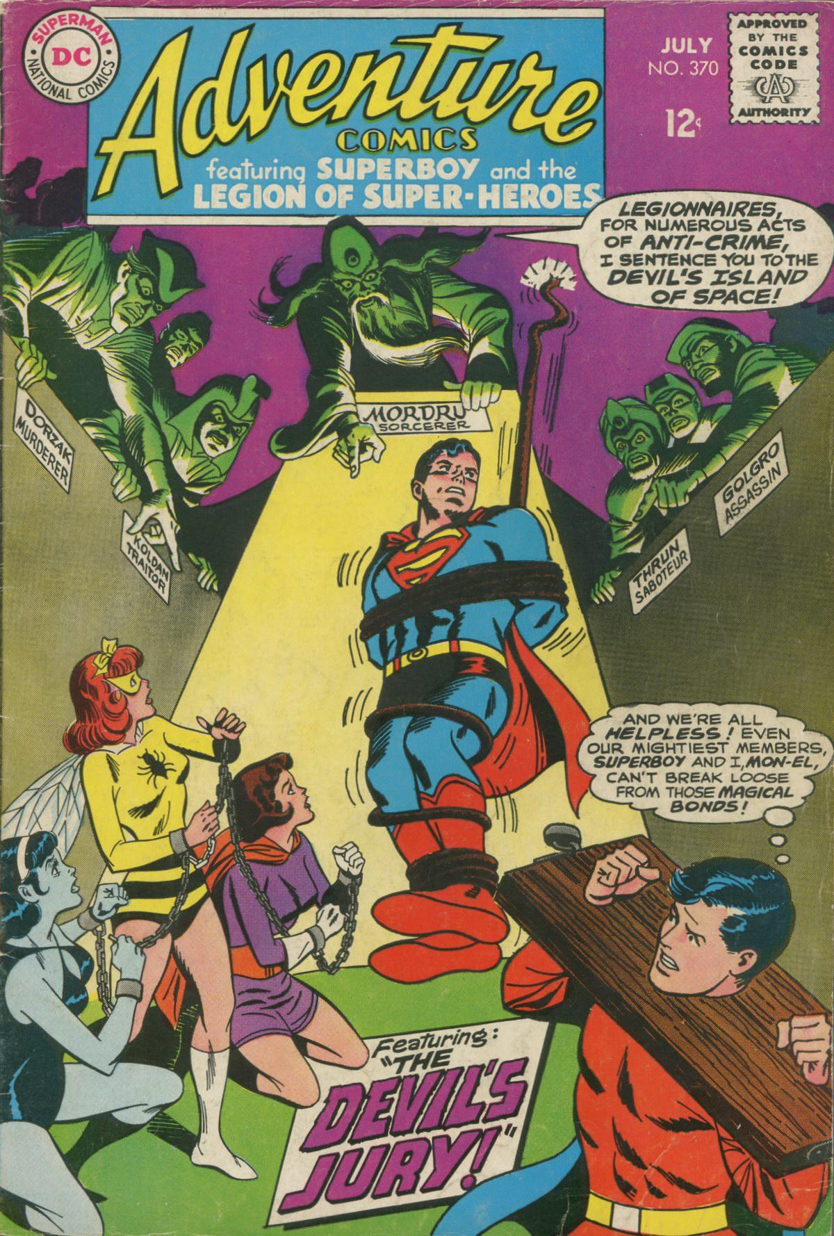 Read online Adventure Comics (1938) comic -  Issue #370 - 1