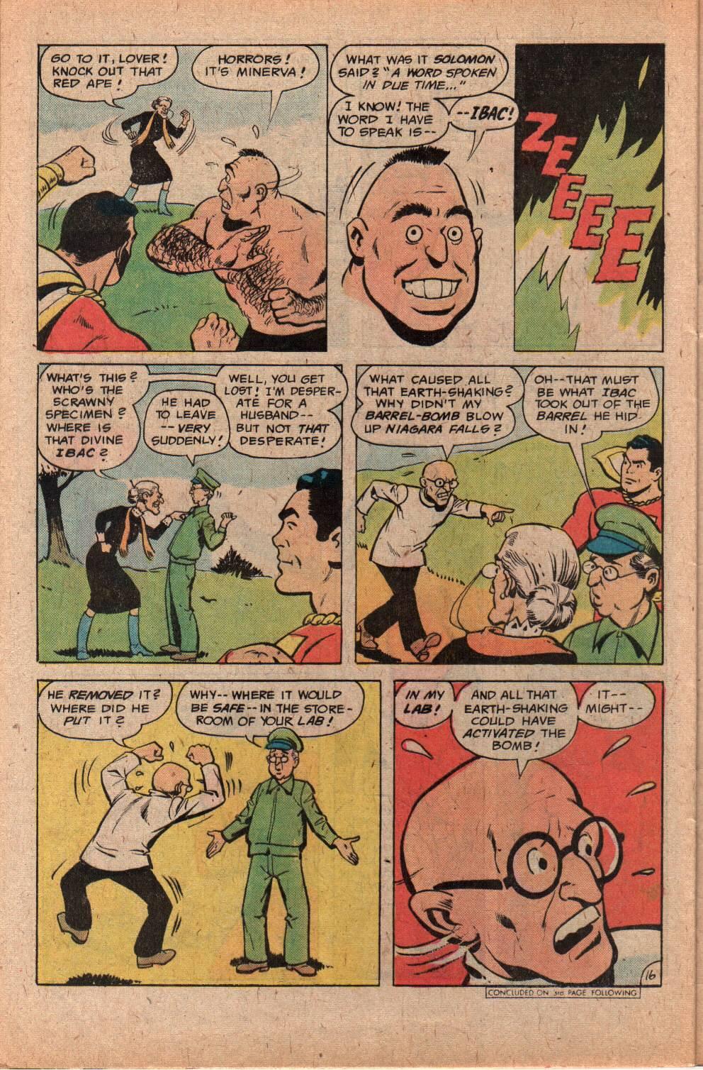 Read online Shazam! (1973) comic -  Issue #29 - 28