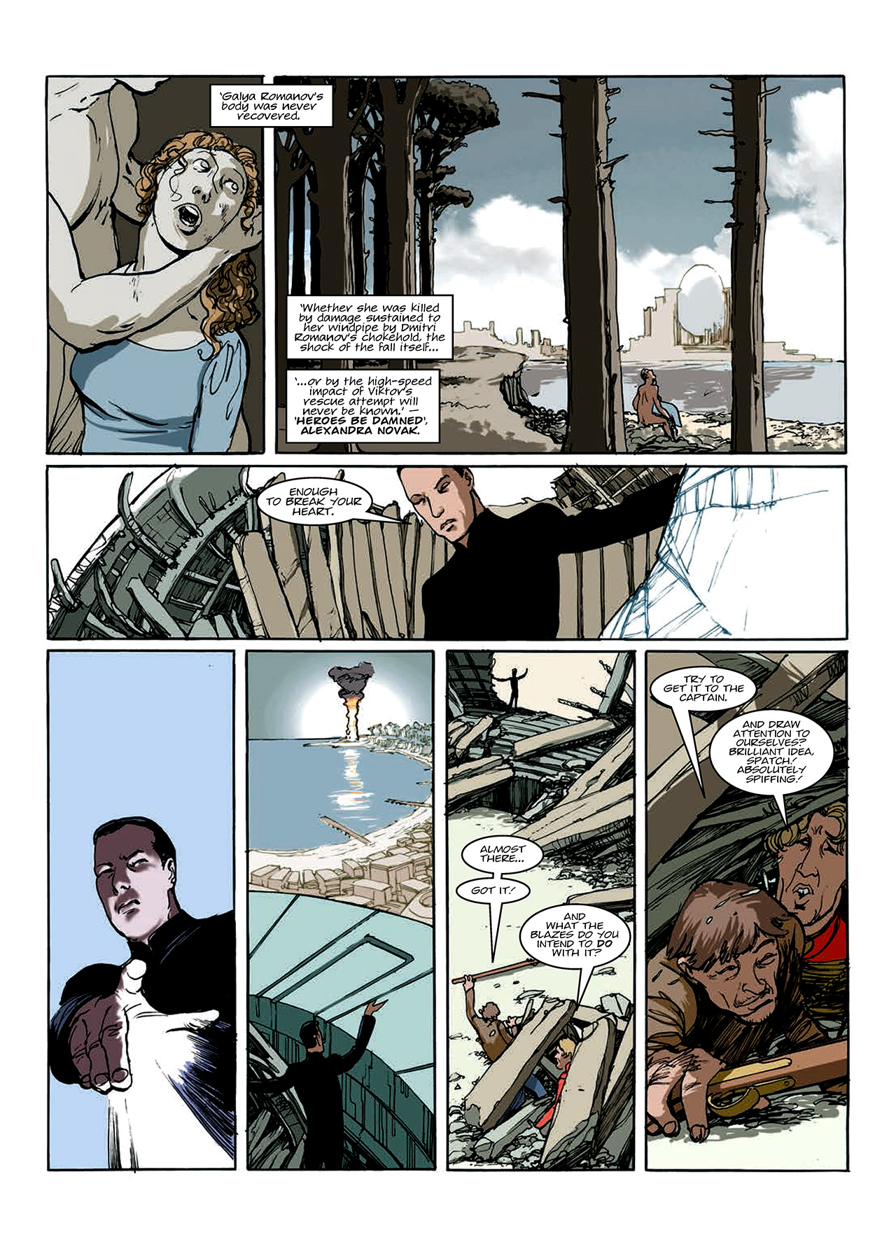 Read online Nikolai Dante comic -  Issue # TPB 10 - 103