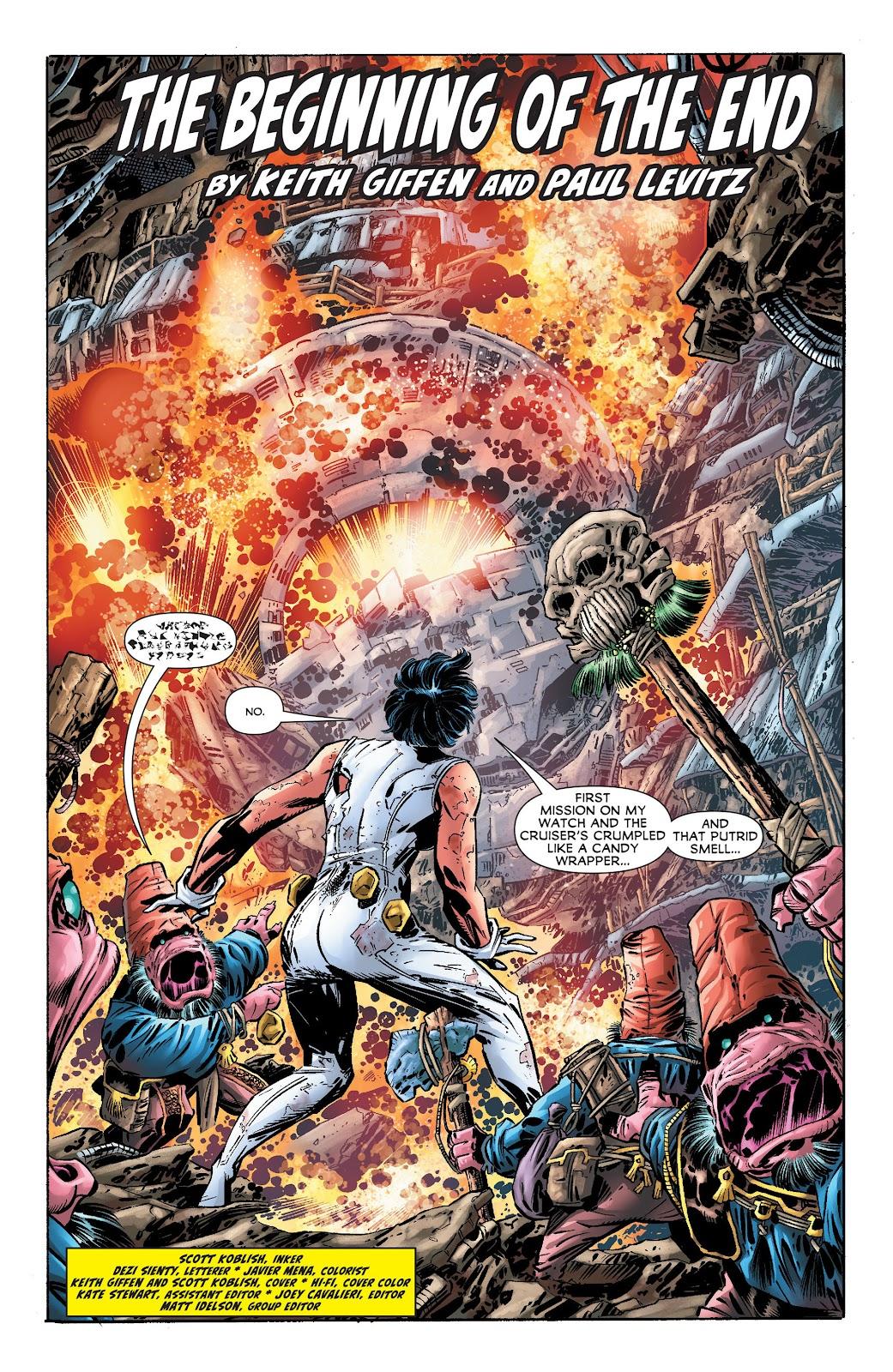 Legion of Super-Heroes (2011) Issue #17 #18 - English 3