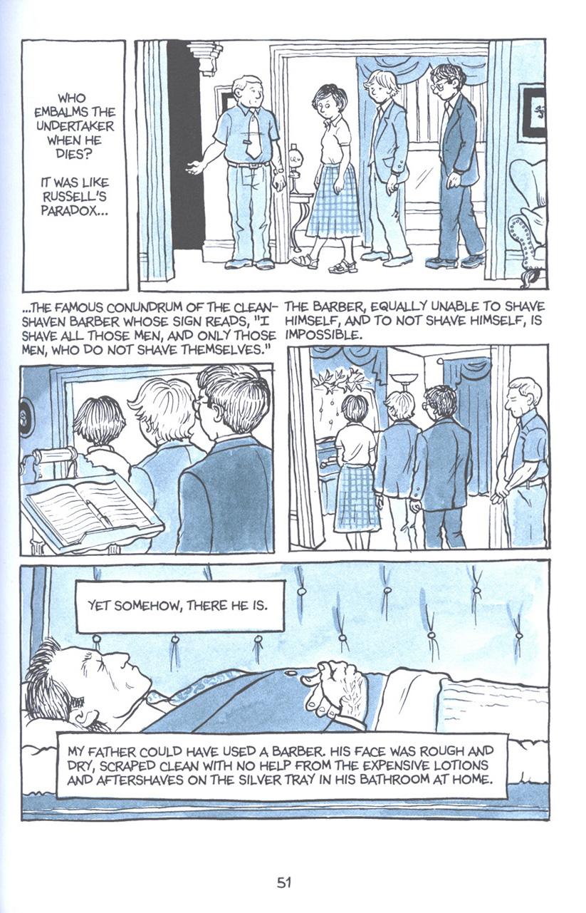 Read online Fun Home: A Family Tragicomic comic -  Issue # TPB - 58