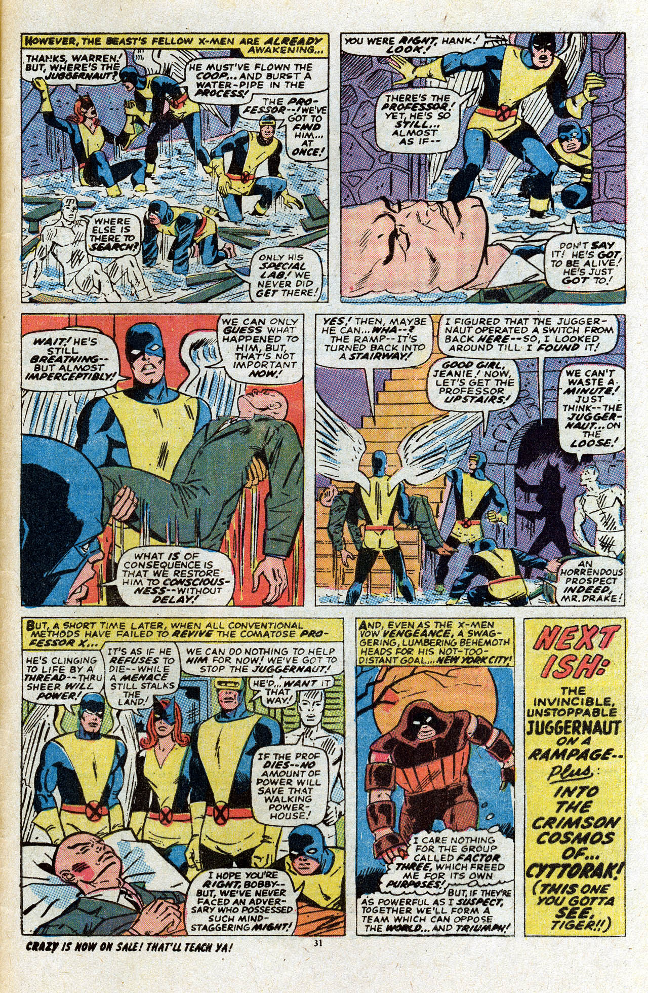 Uncanny X-Men (1963) 80 Page 32