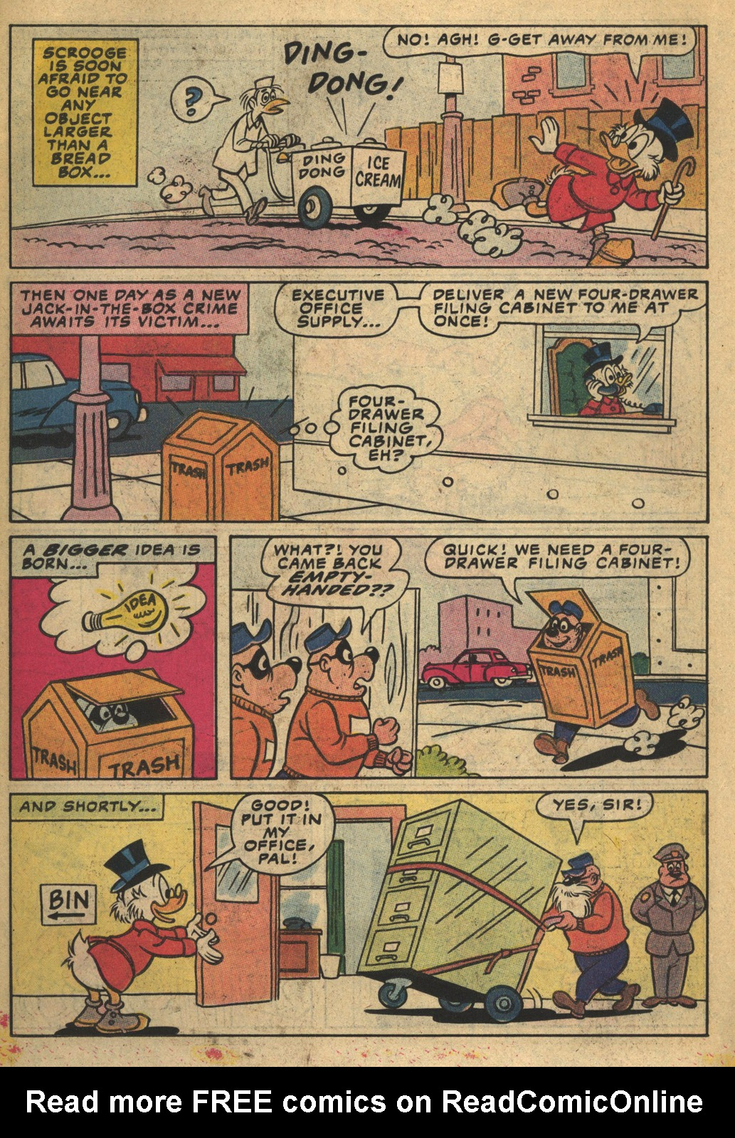 Read online Uncle Scrooge (1953) comic -  Issue #193 - 22