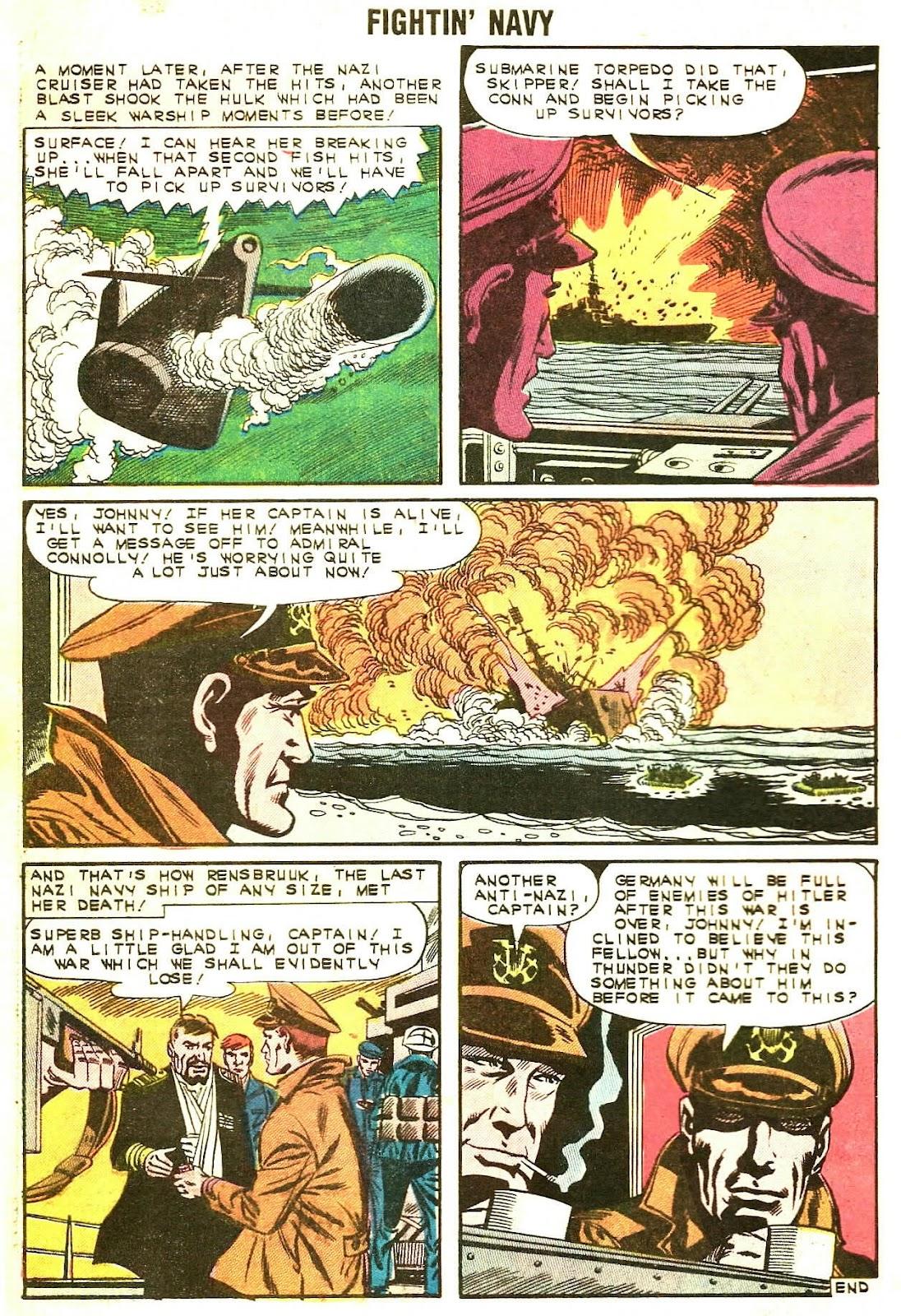 Read online Fightin' Navy comic -  Issue #107 - 32