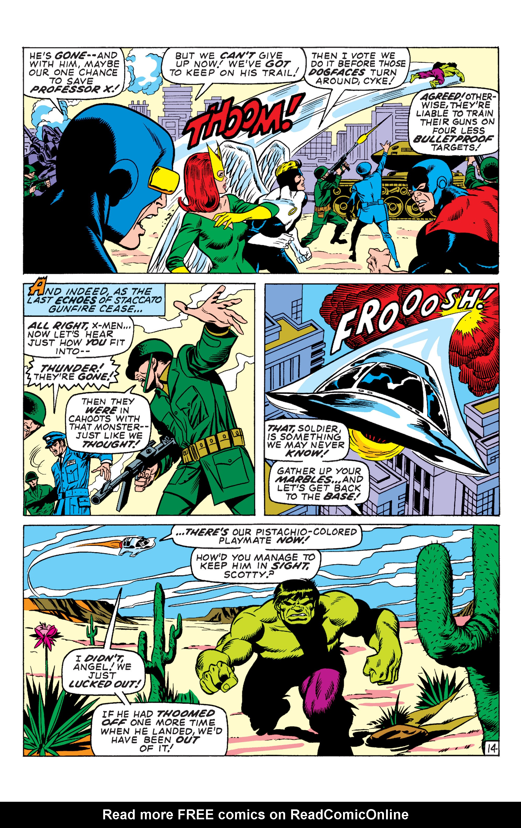 Uncanny X-Men (1963) 66 Page 14