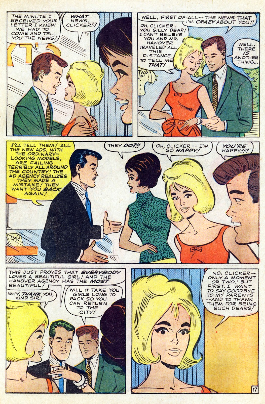 Read online Millie the Model comic -  Issue # Annual 5 - 63