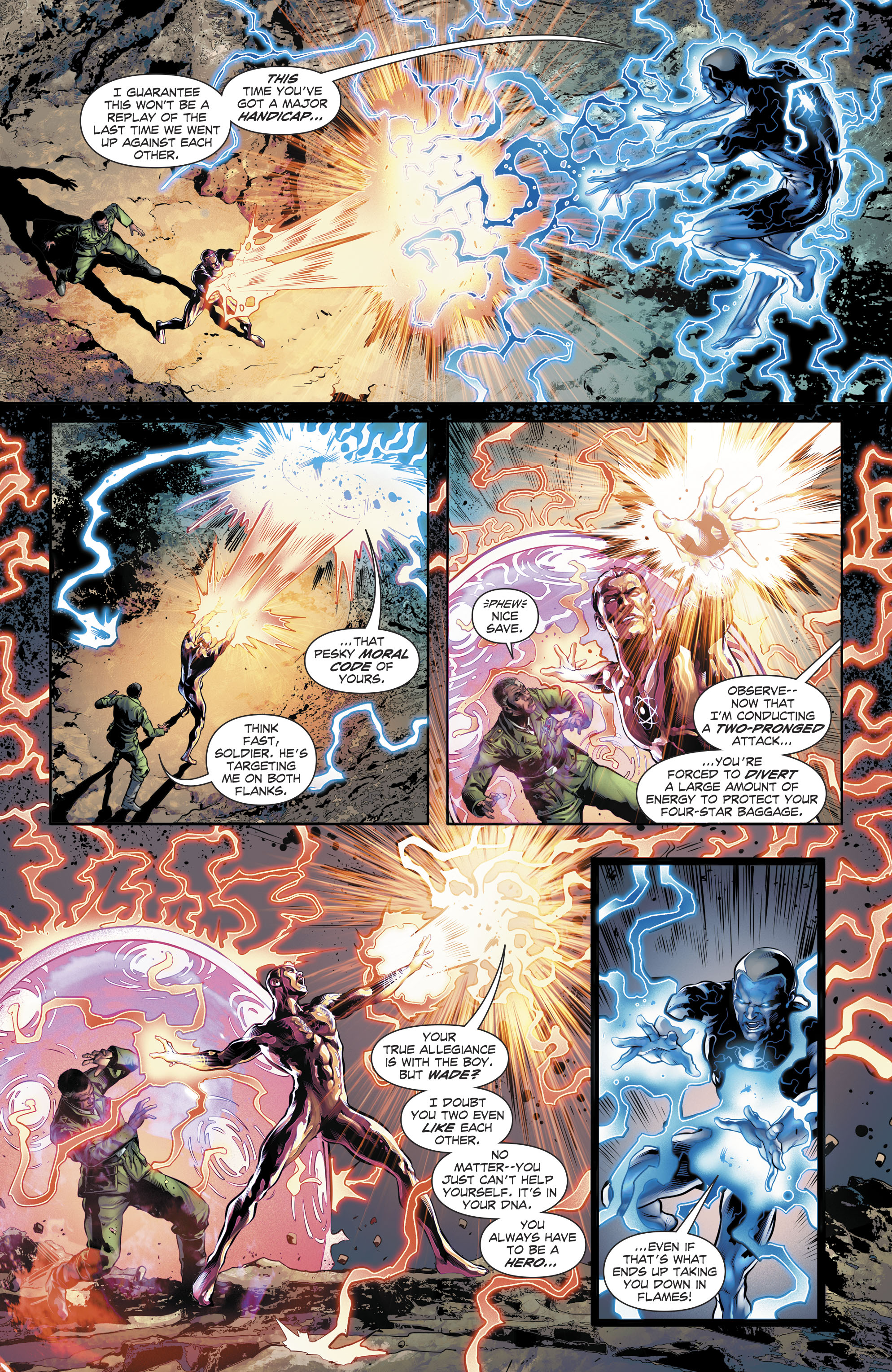 Read online The Fall and Rise of Captain Atom comic -  Issue #6 - 15