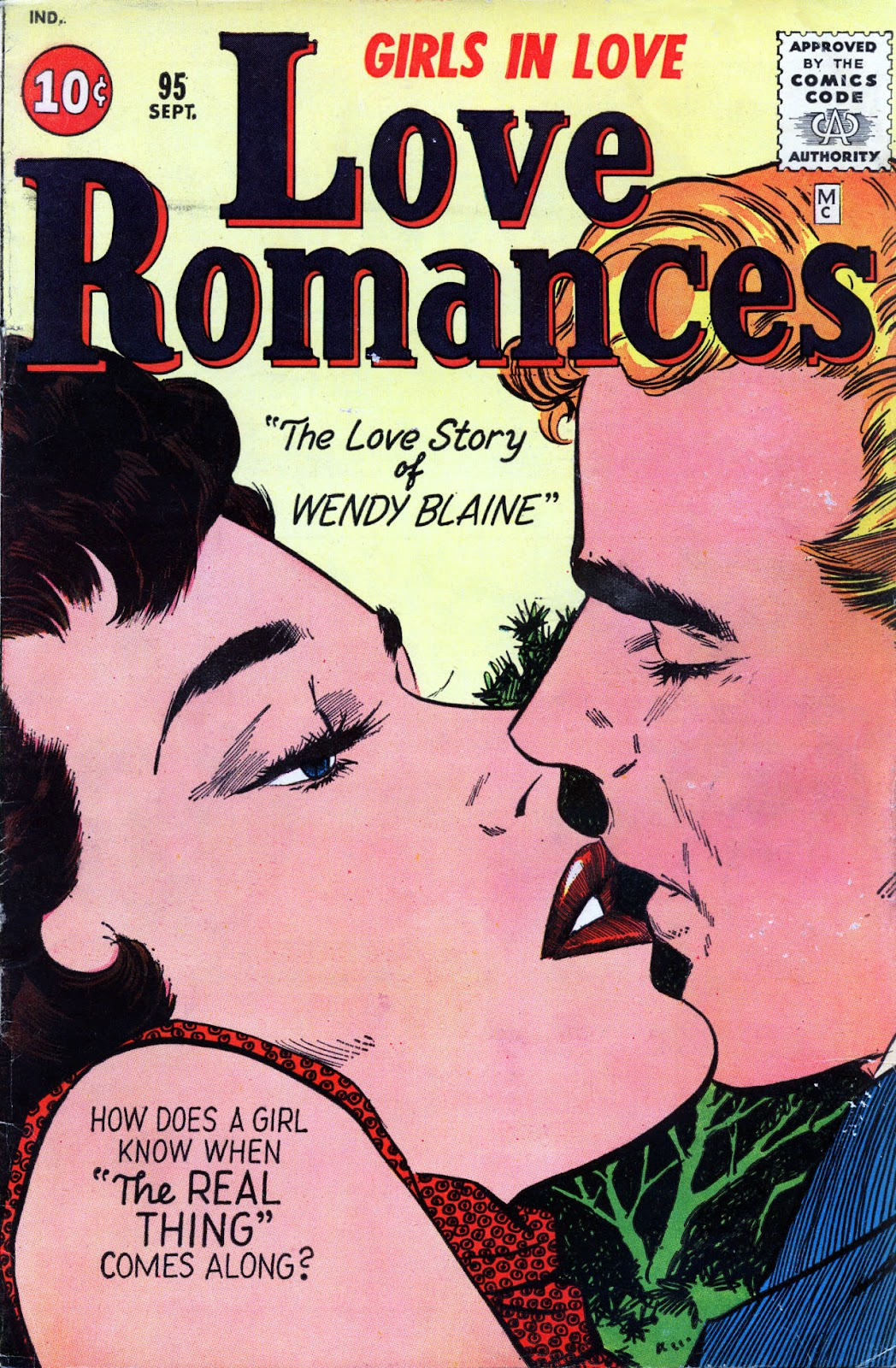Love Romances (1949) issue 95 - Page 1