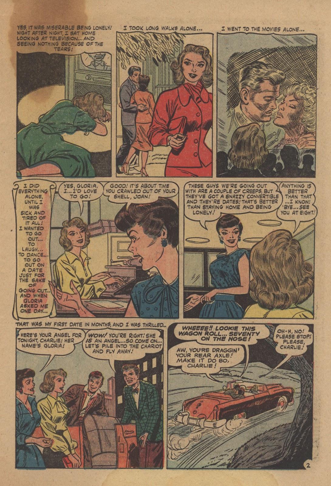 Love Romances (1949) issue 28 - Page 23