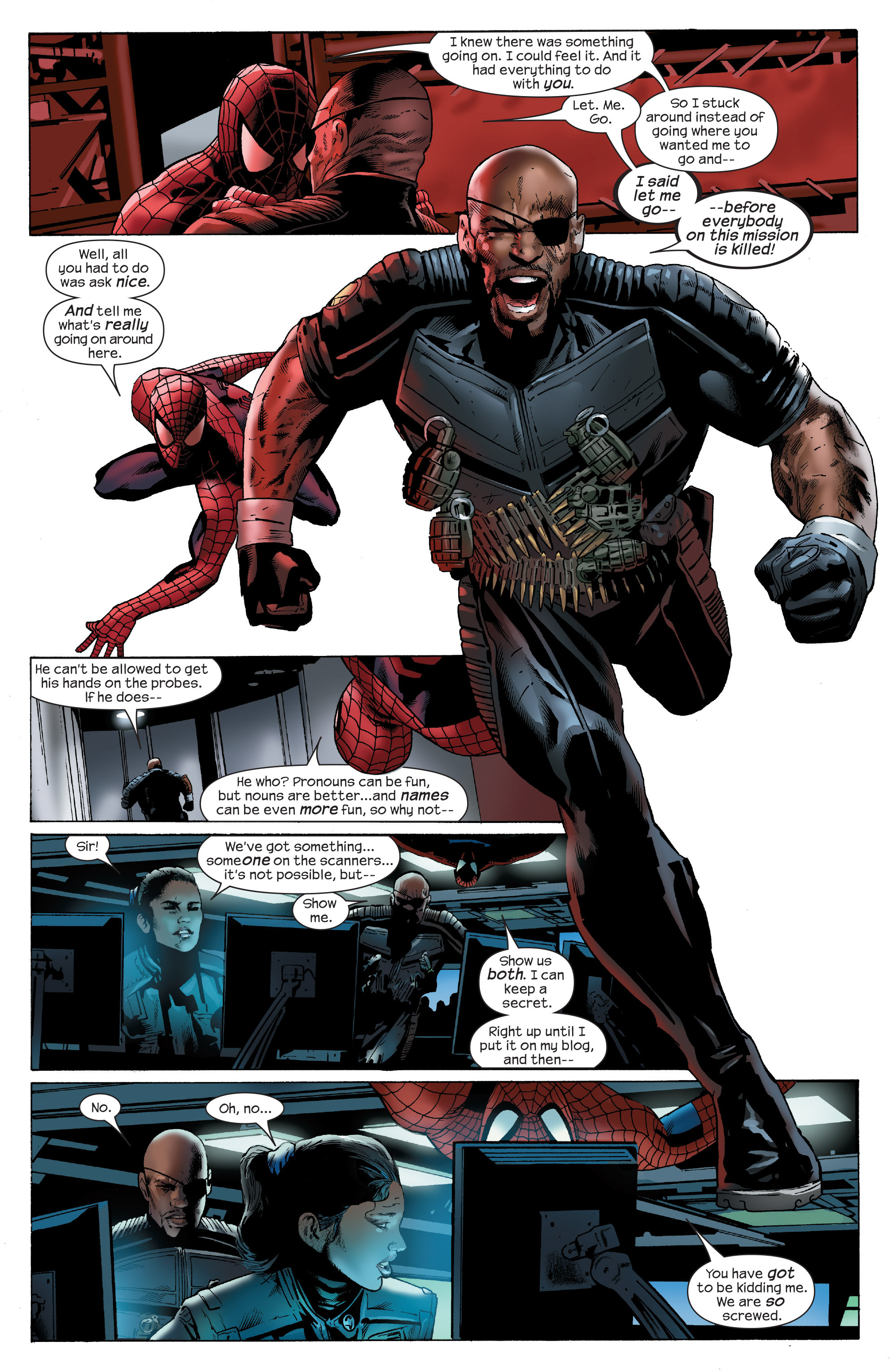 Read online Ultimate Power comic -  Issue #6 - 23