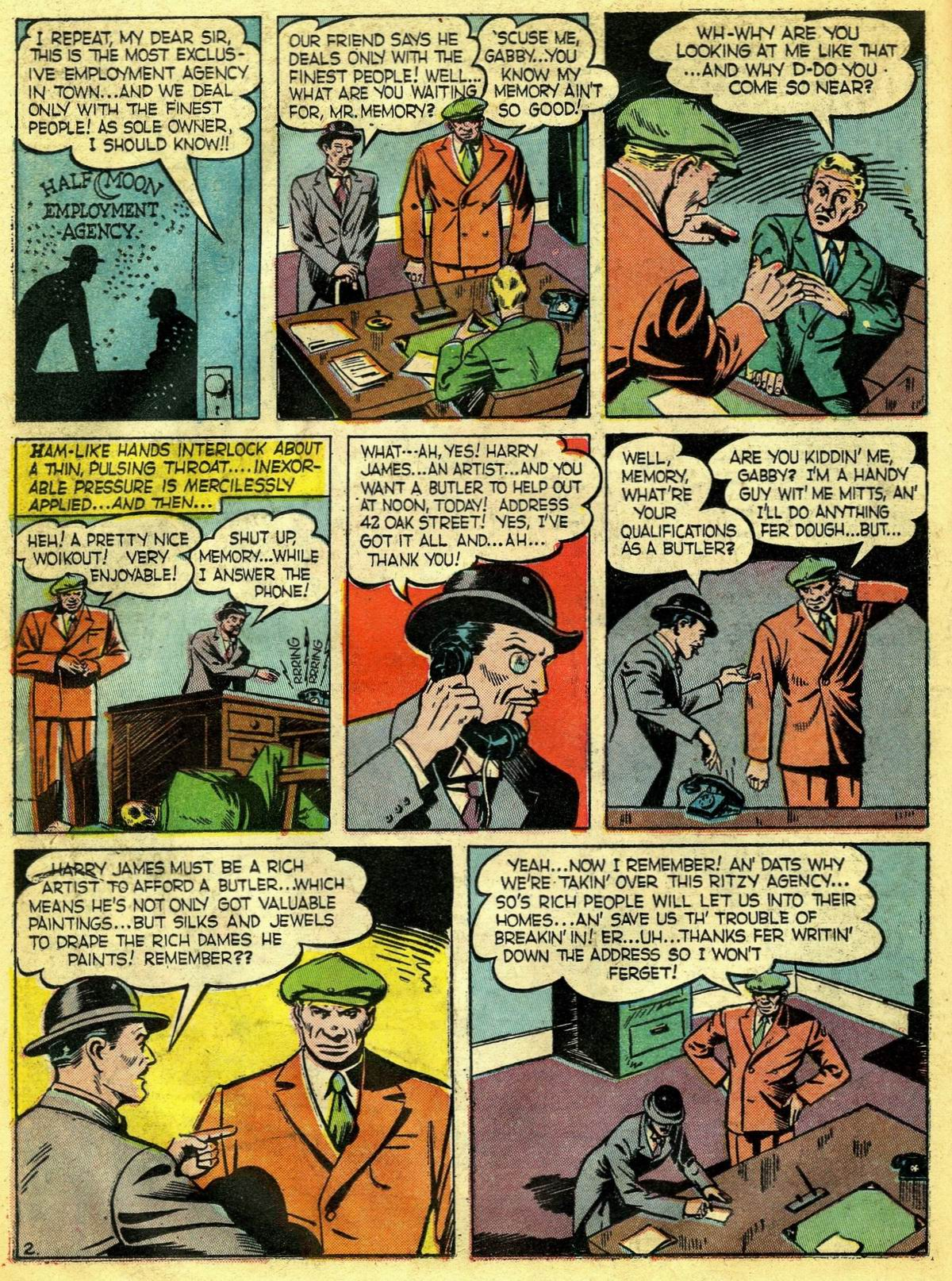 Read online Detective Comics (1937) comic -  Issue #67 - 32