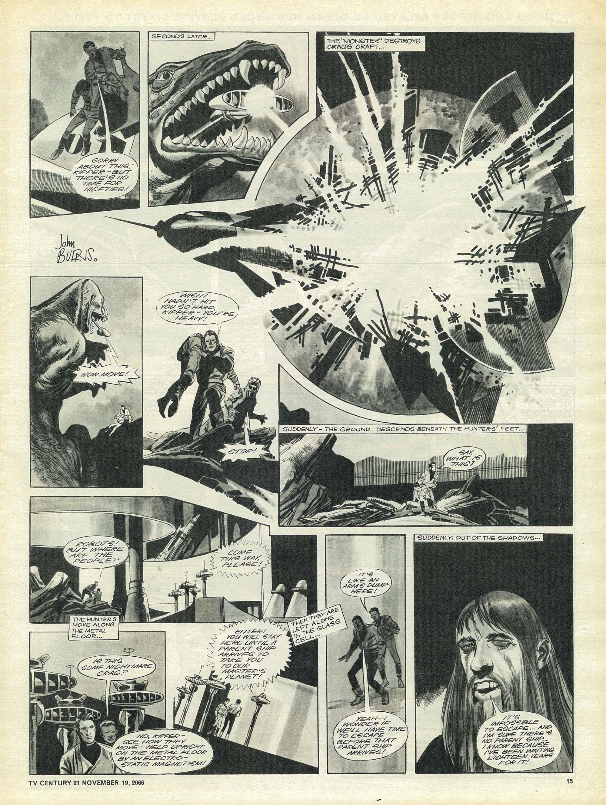 Read online TV Century 21 (TV 21) comic -  Issue #96 - 14