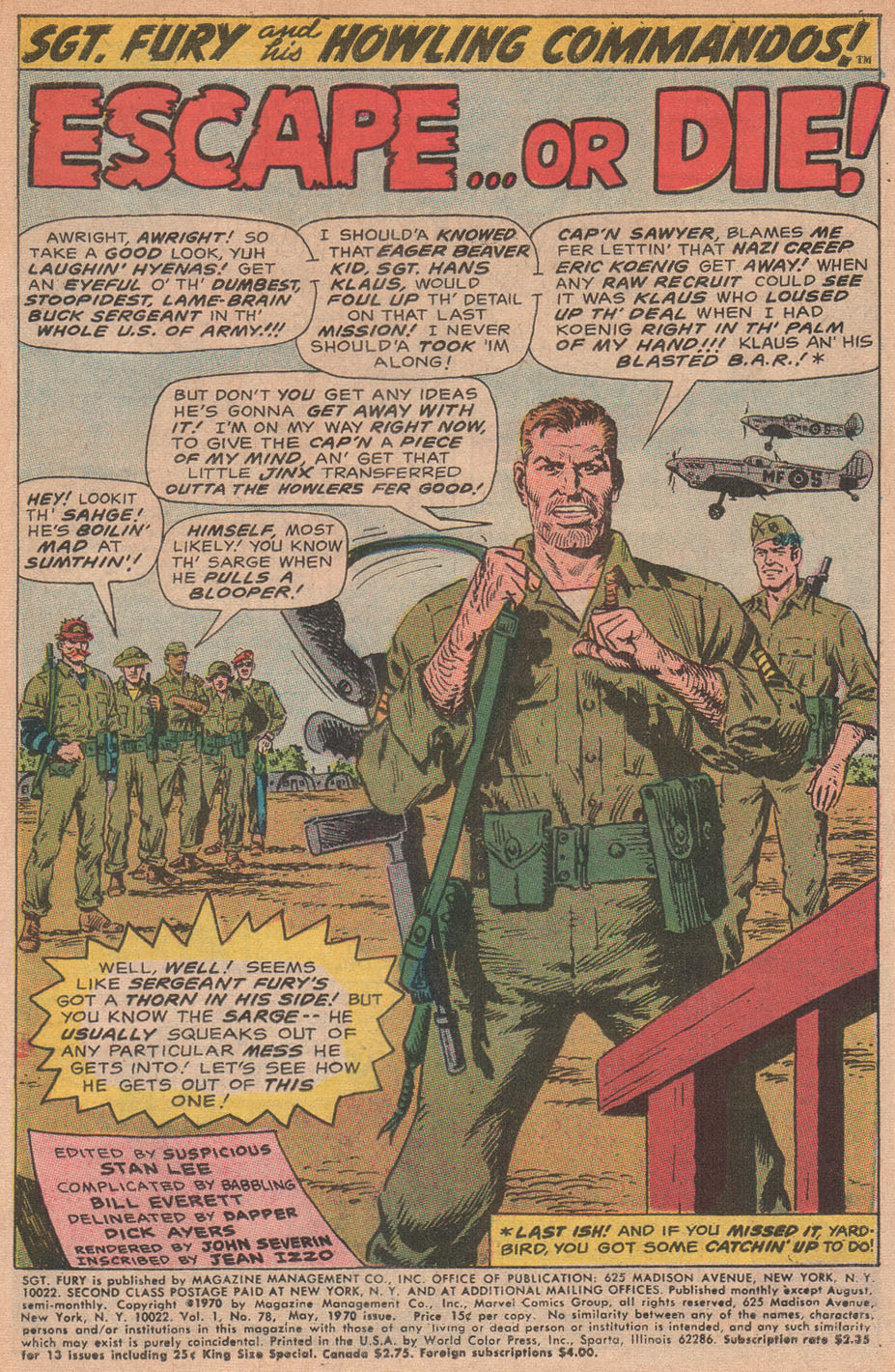 Read online Sgt. Fury comic -  Issue #78 - 3