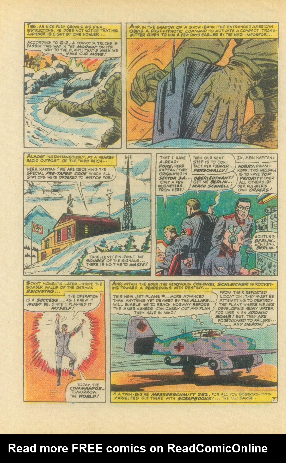 Read online Sgt. Fury comic -  Issue #93 - 12