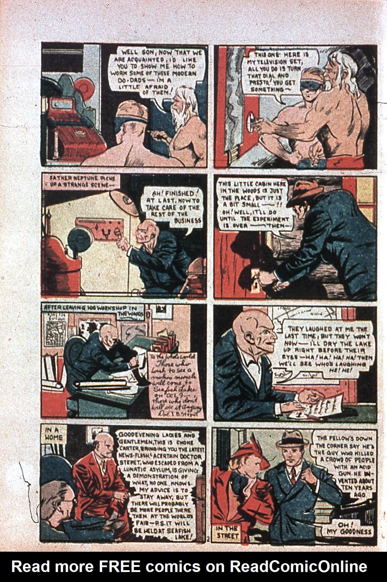 Read online Amazing Man Comics comic -  Issue #7 - 61