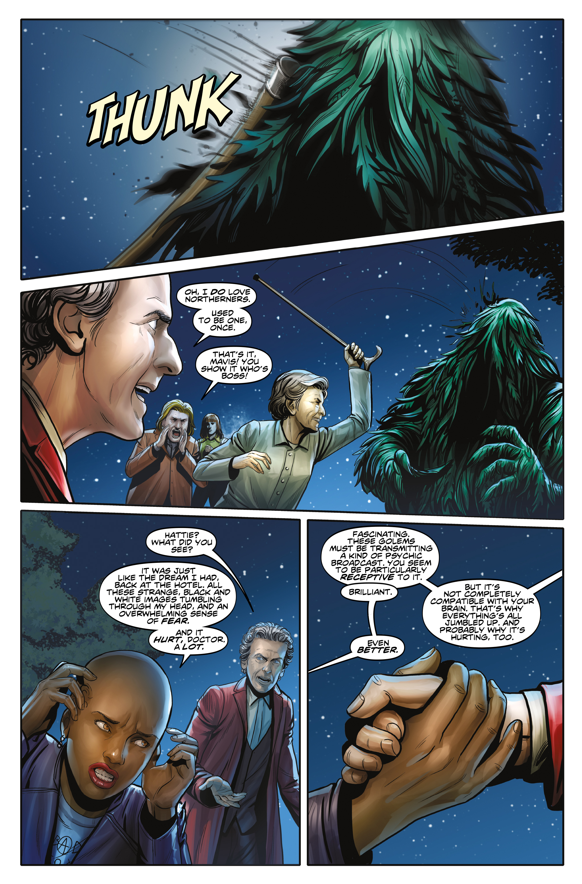 Read online Doctor Who: The Twelfth Doctor Year Three comic -  Issue #3 - 7