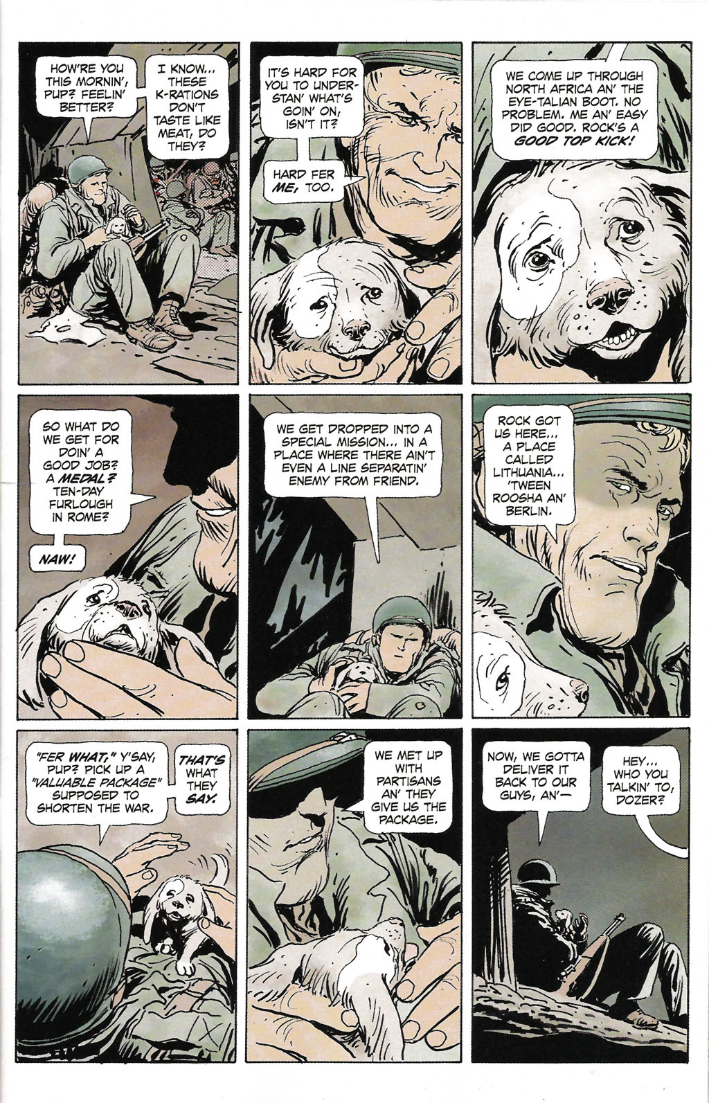 Read online Sgt. Rock: The Prophecy comic -  Issue #2 - 2