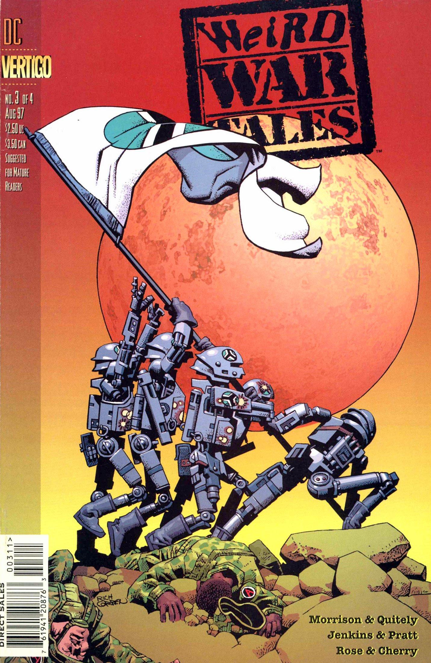 Weird War Tales (1997) issue 3 - Page 1