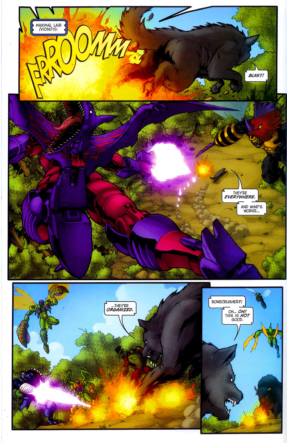 Read online Transformers, Beast Wars: The Gathering comic -  Issue #4 - 19