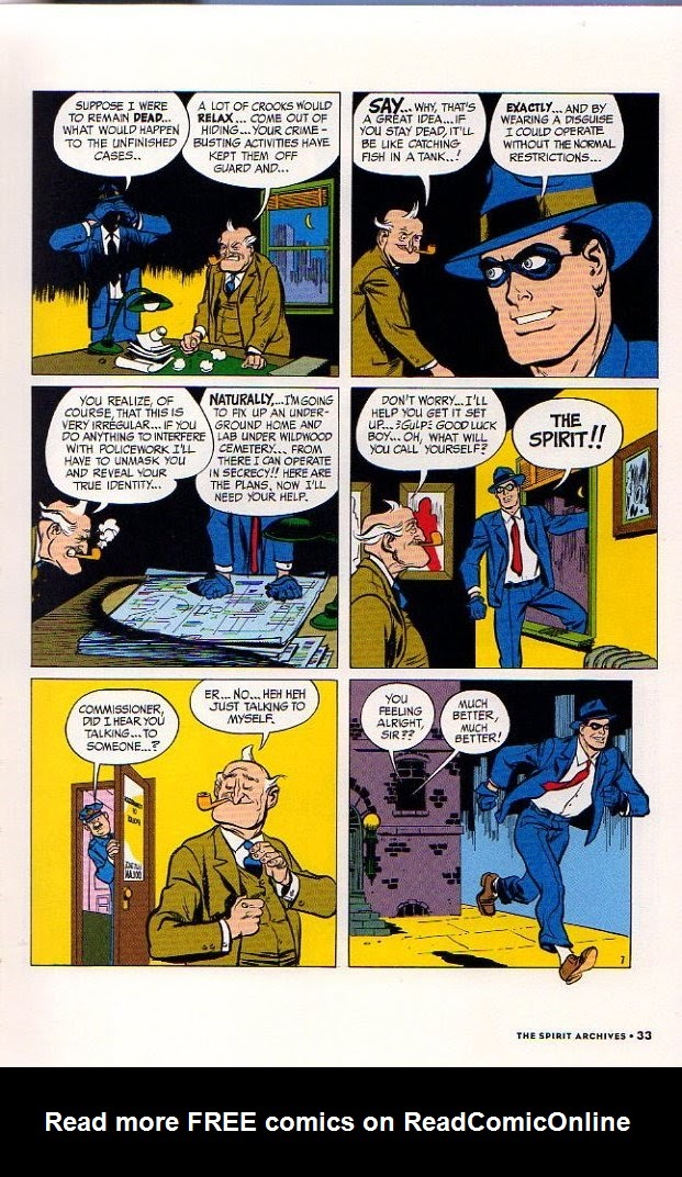 Read online Will Eisner's The Spirit Archives comic -  Issue # TPB 26 (Part 1) - 40