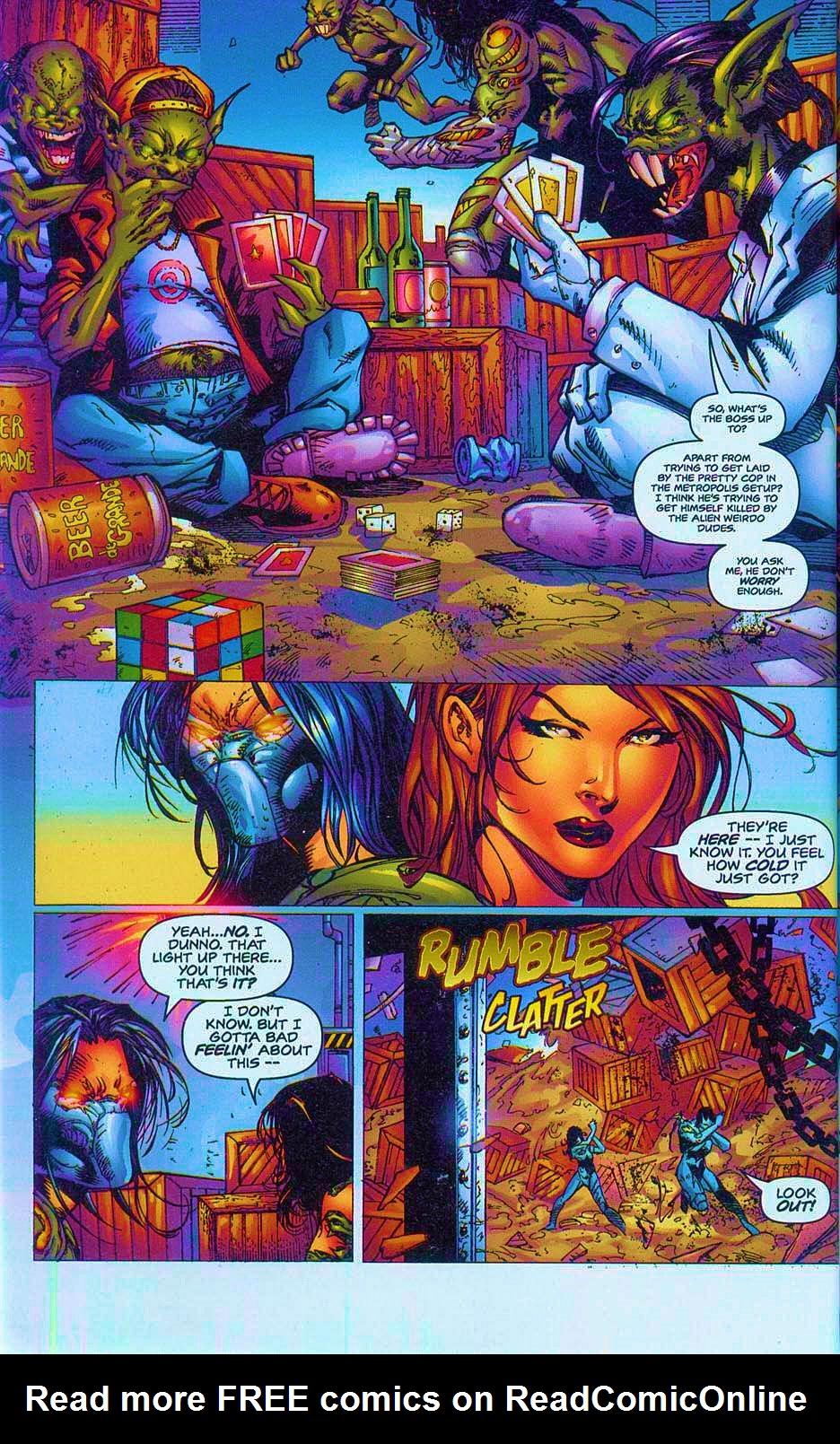 Read online Overkill: Witchblade/Aliens/Darkness/Predator comic -  Issue #2 - 15