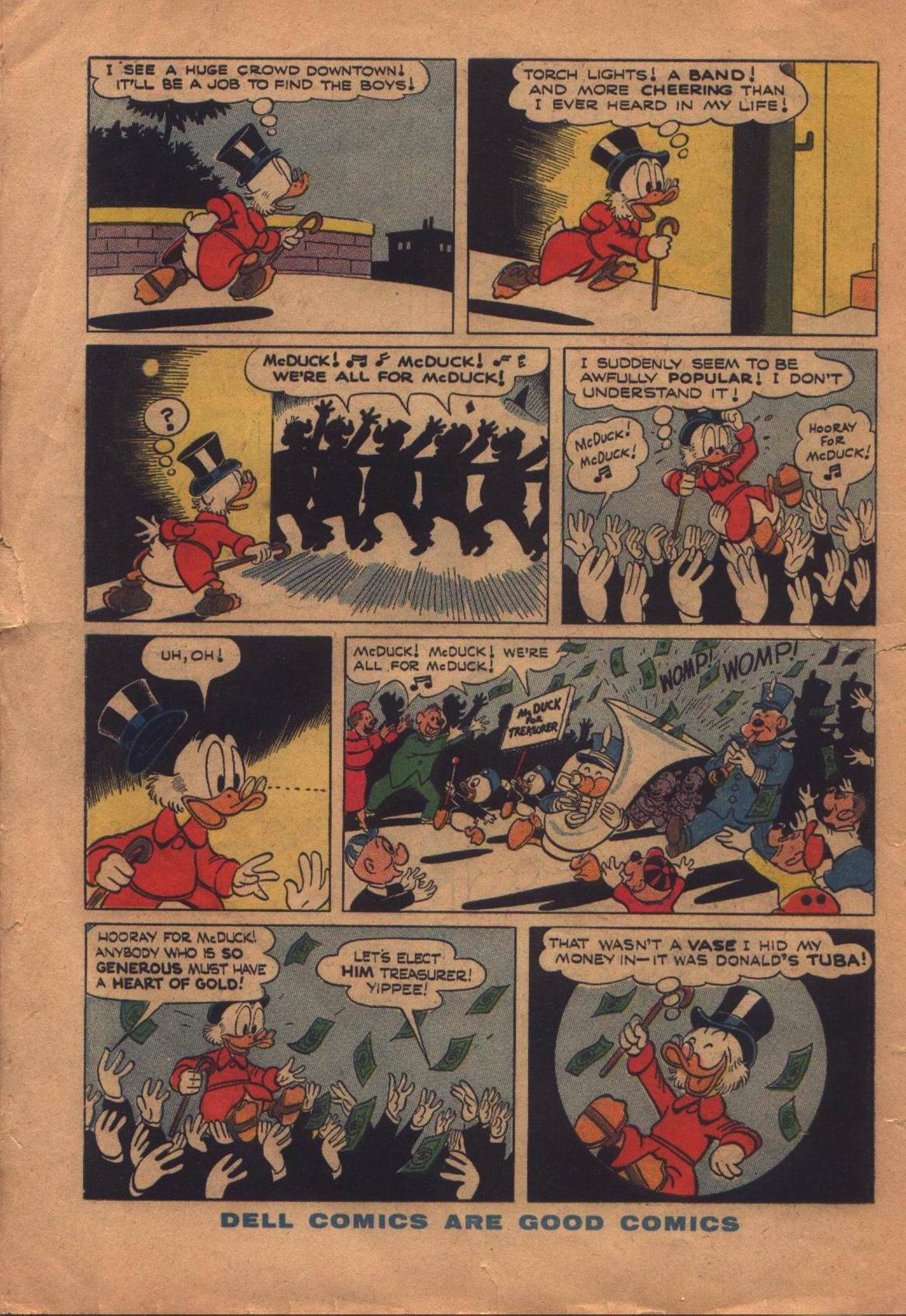 Read online Uncle Scrooge (1953) comic -  Issue #8 - 34