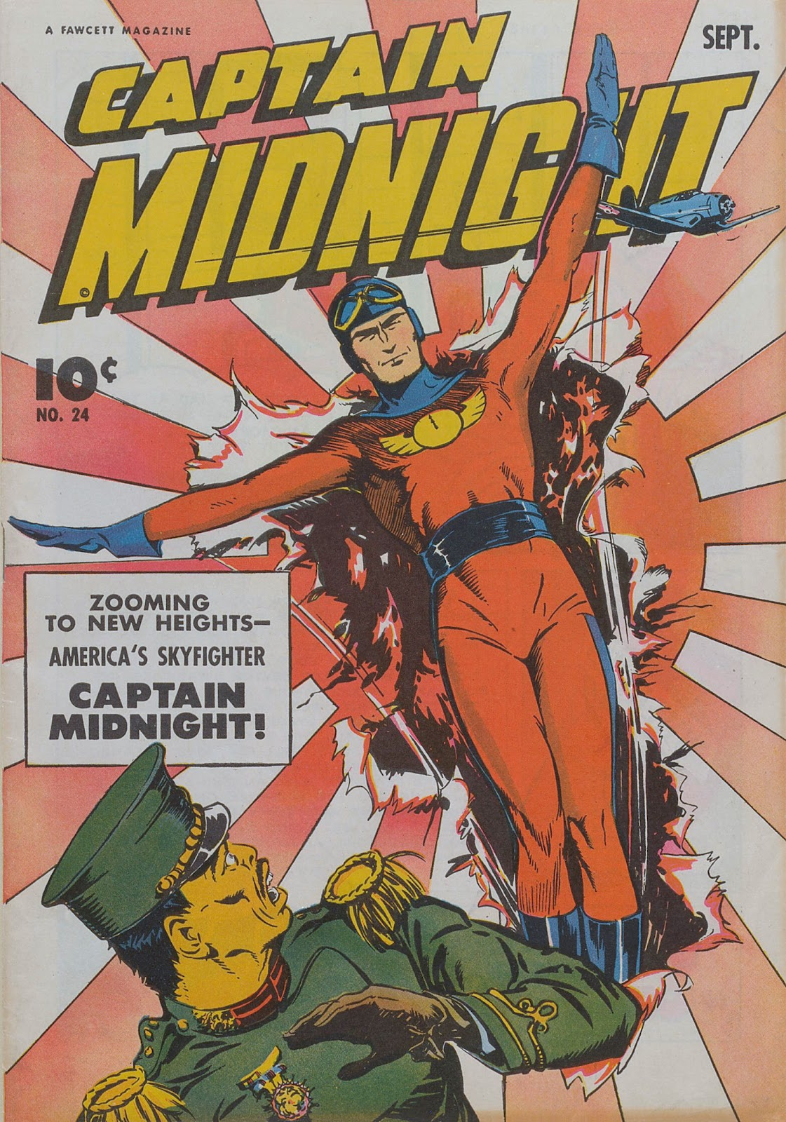 Captain Midnight (1942) 24 Page 1