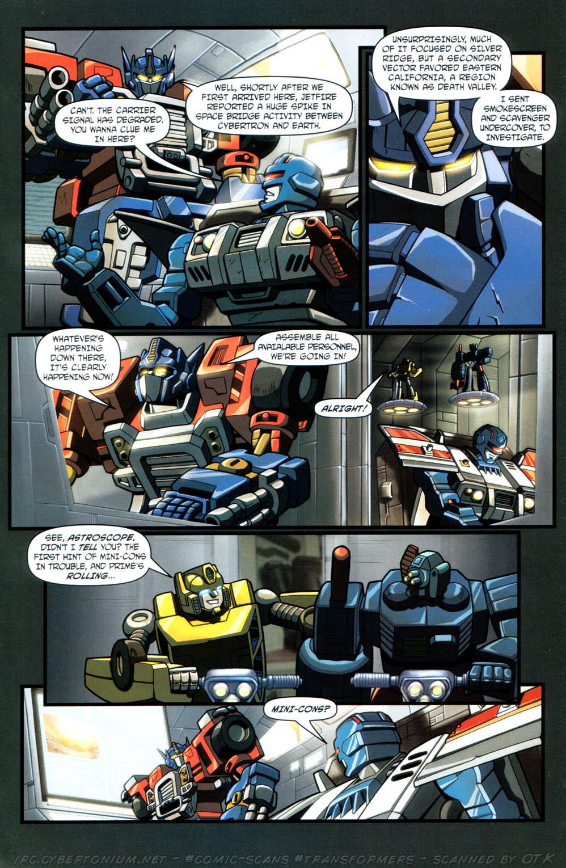 Read online Transformers Armada comic -  Issue #12 - 7