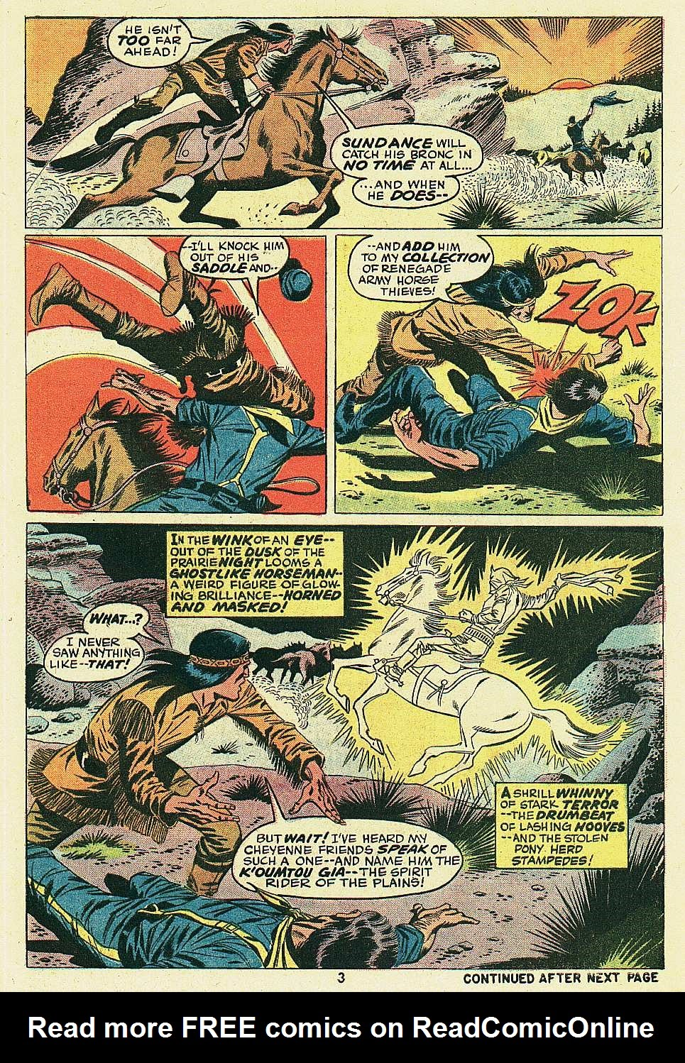 Red Wolf (1972) issue 6 - Page 4