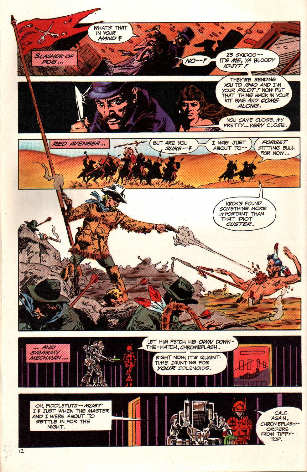 Read online Aztec Ace comic -  Issue #6 - 13