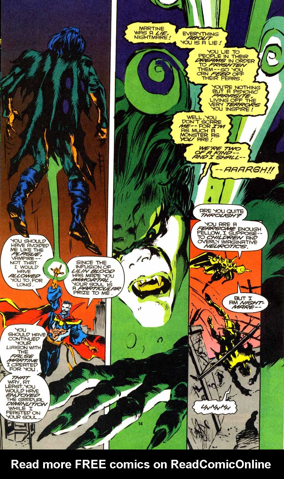 Doctor Strange: Sorcerer Supreme #53 - Read Doctor Strange