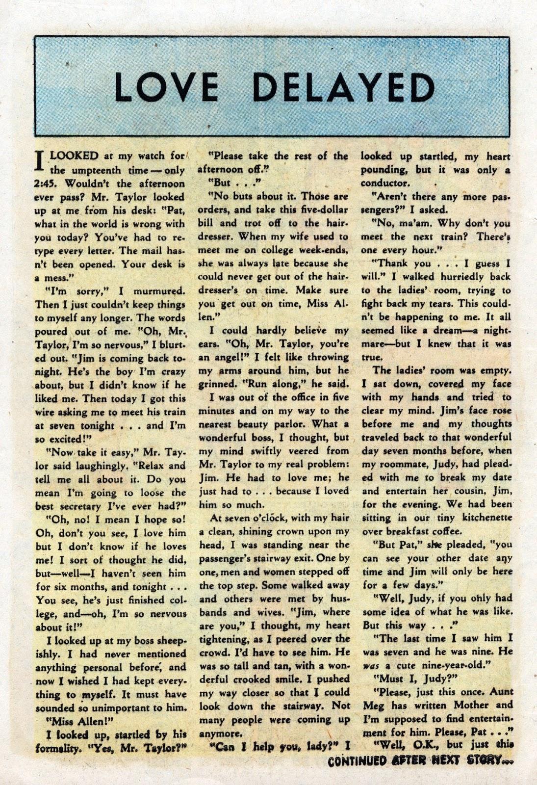 Love Romances (1949) issue 19 - Page 10