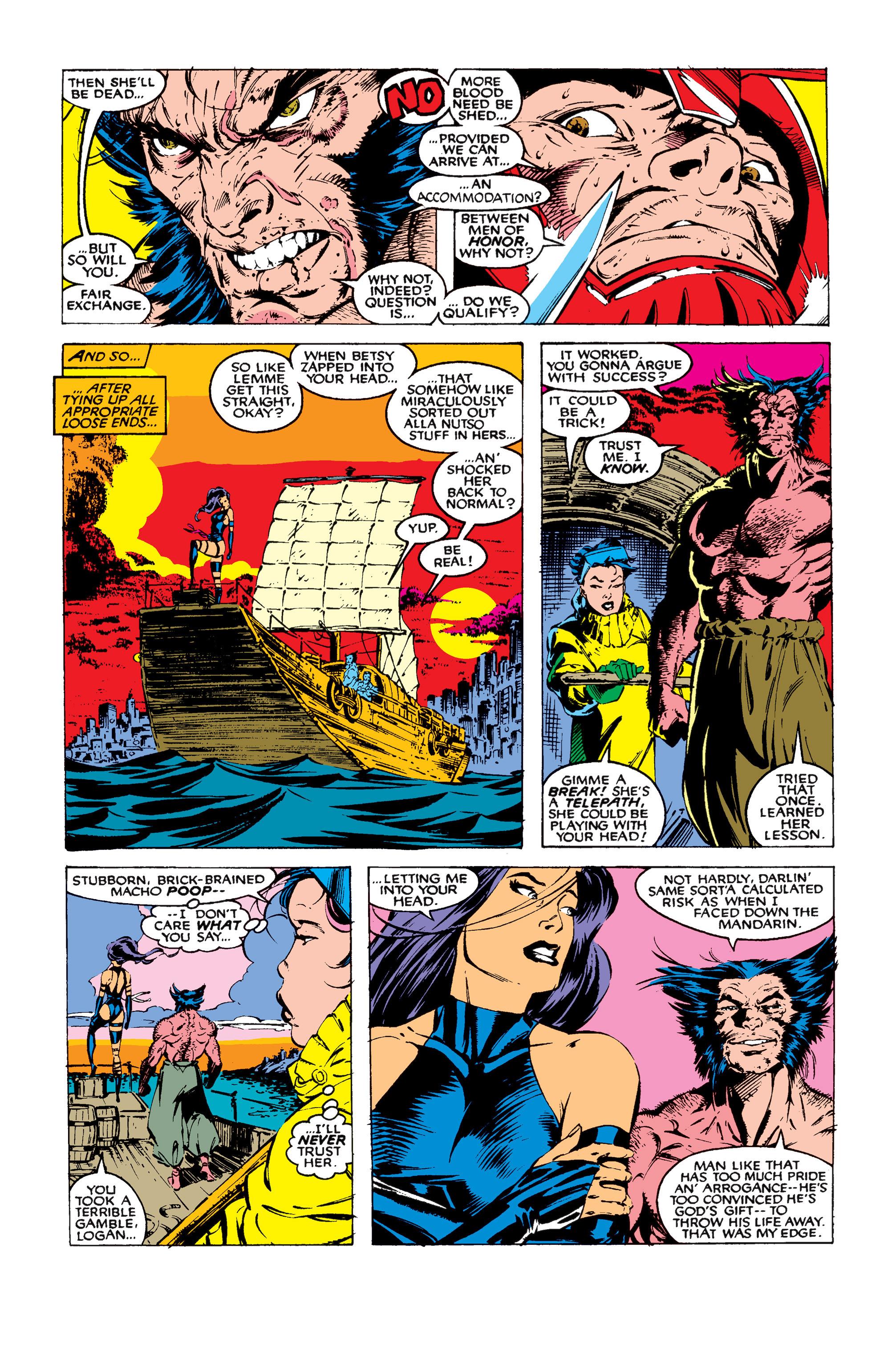 Read online Uncanny X-Men (1963) comic -  Issue #258 - 24