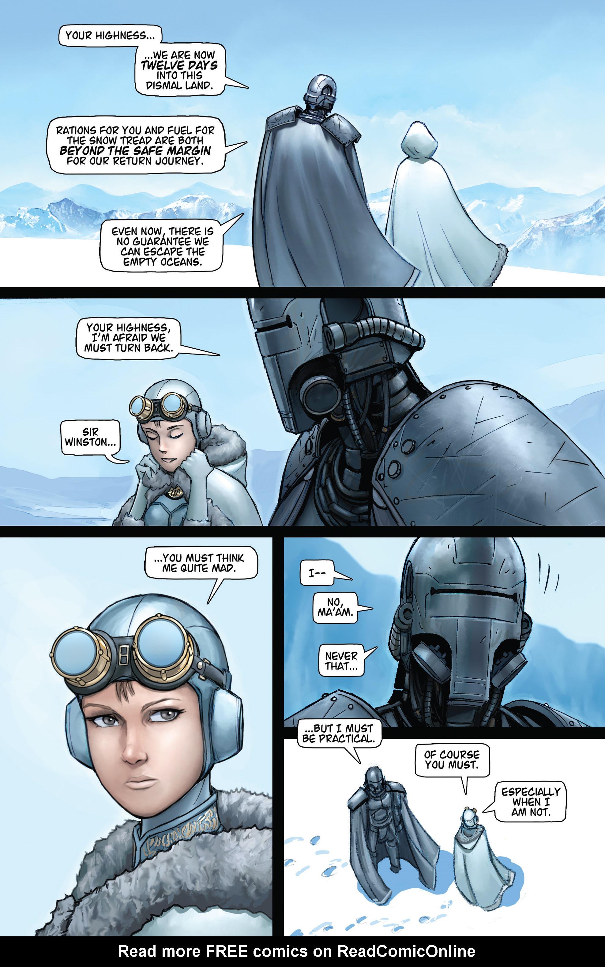 Read online Steam Wars: First Empire comic -  Issue #4 - 7