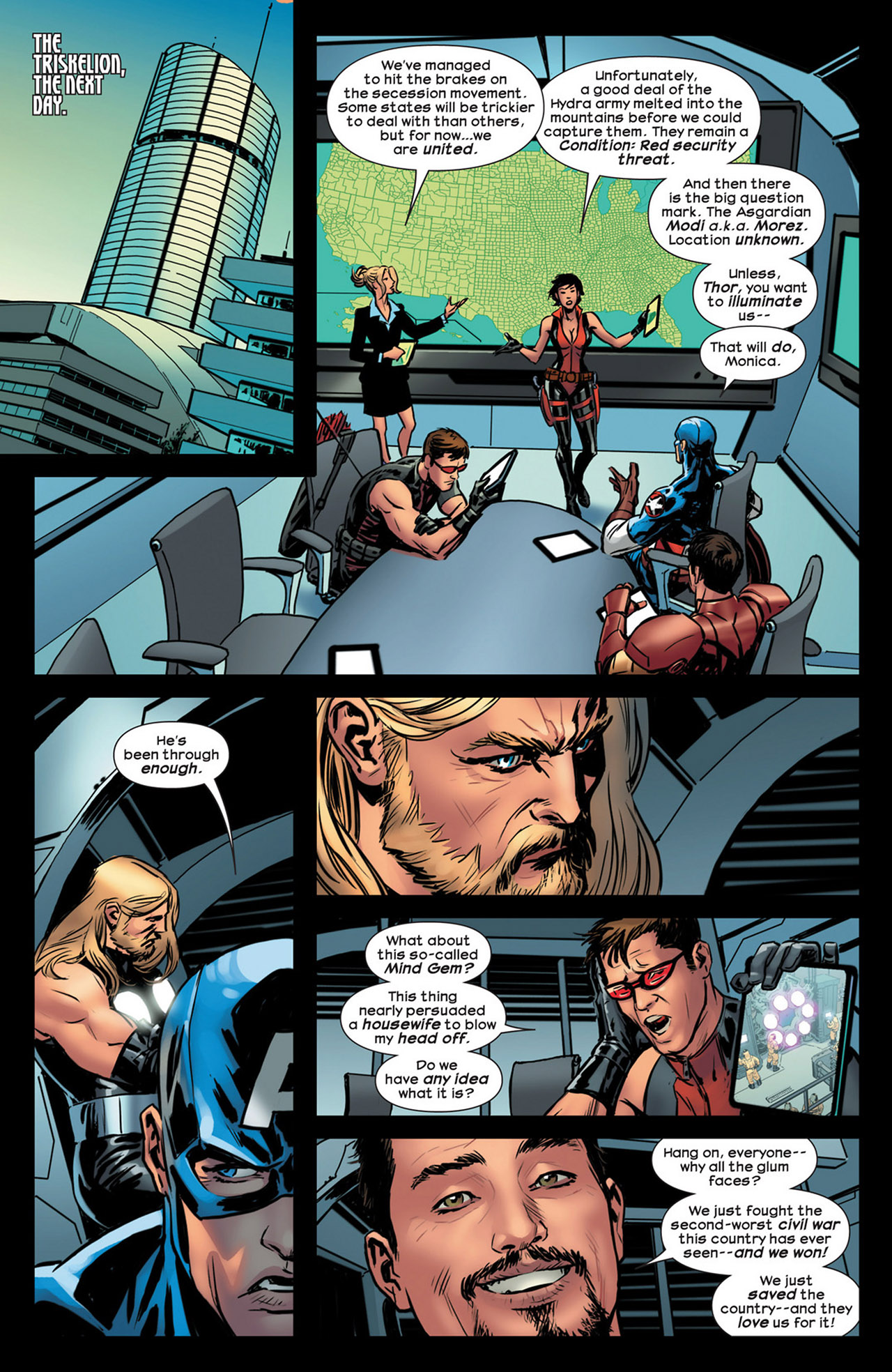Read online Ultimate Comics Ultimates comic -  Issue #18 - 22