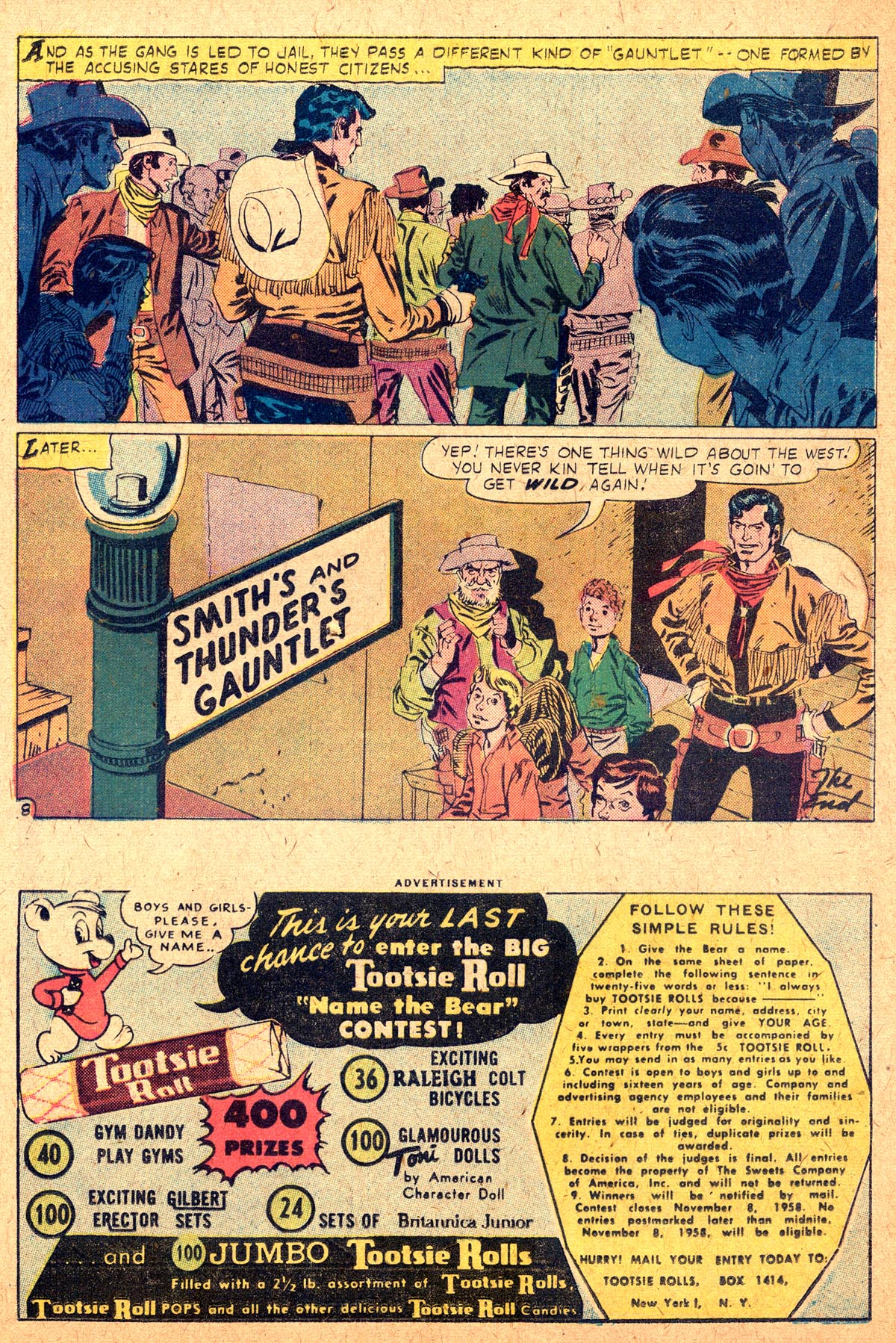 Read online All-Star Western (1951) comic -  Issue #104 - 32