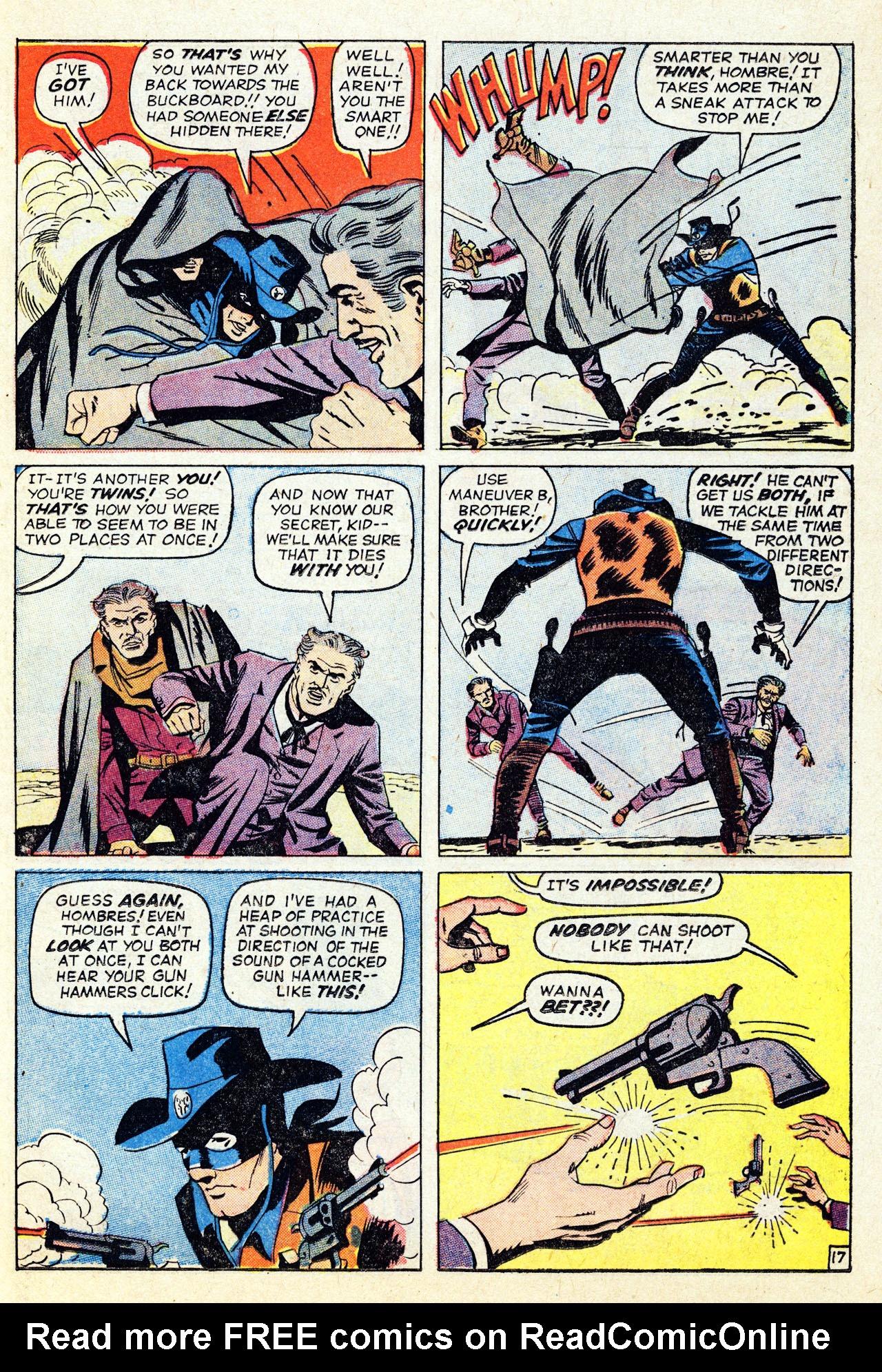 Read online Two-Gun Kid comic -  Issue #67 - 23