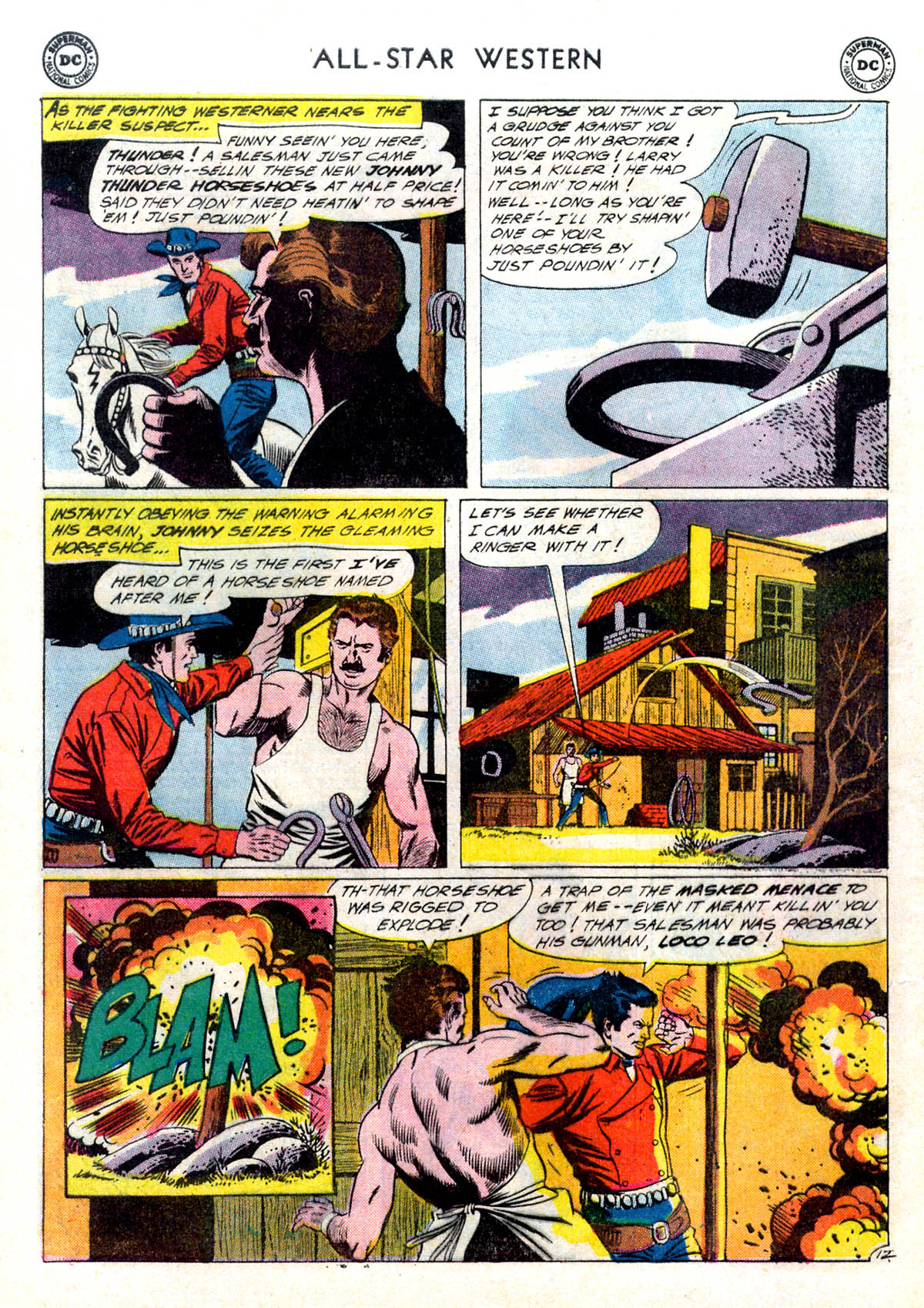 Read online All-Star Western (1951) comic -  Issue #116 - 16