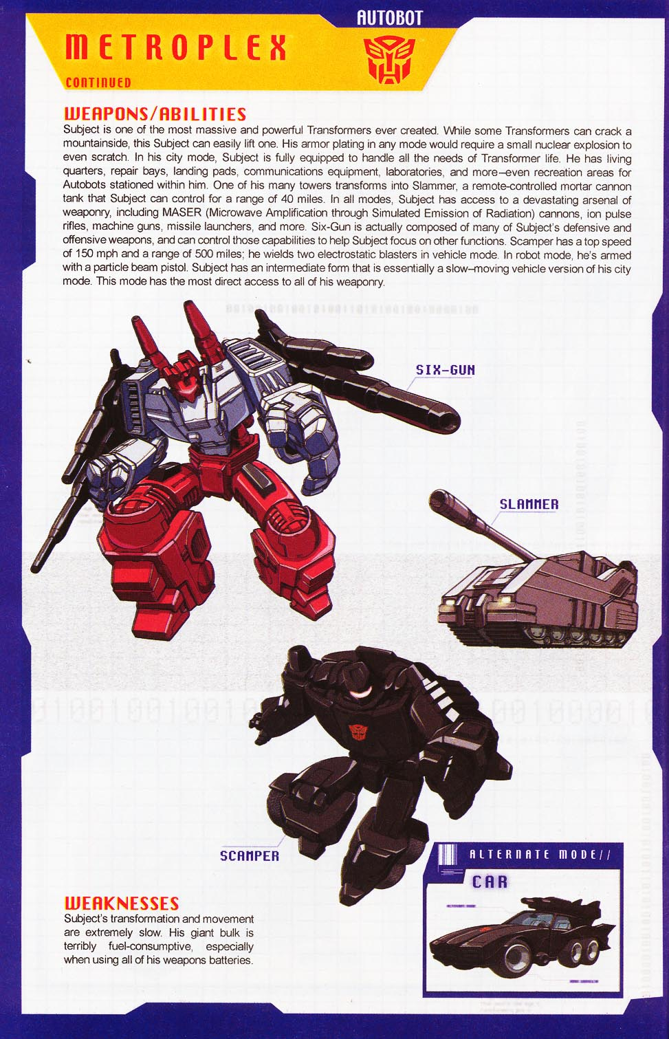 Read online Transformers: More than Meets the Eye comic -  Issue #4 - 6