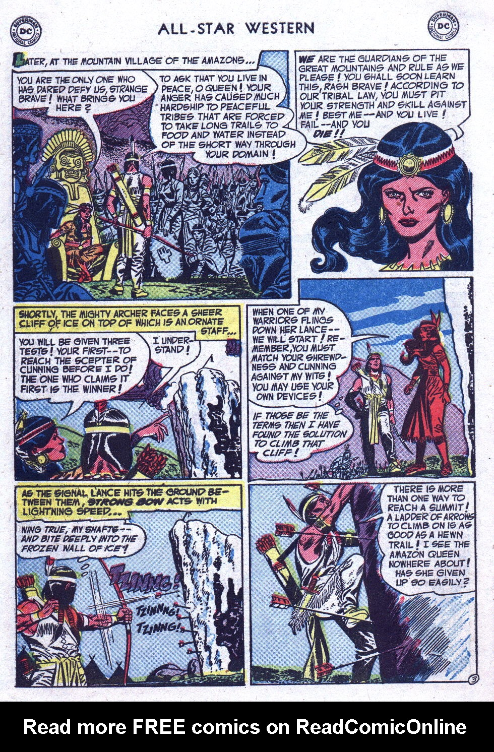 Read online All-Star Western (1951) comic -  Issue #71 - 30