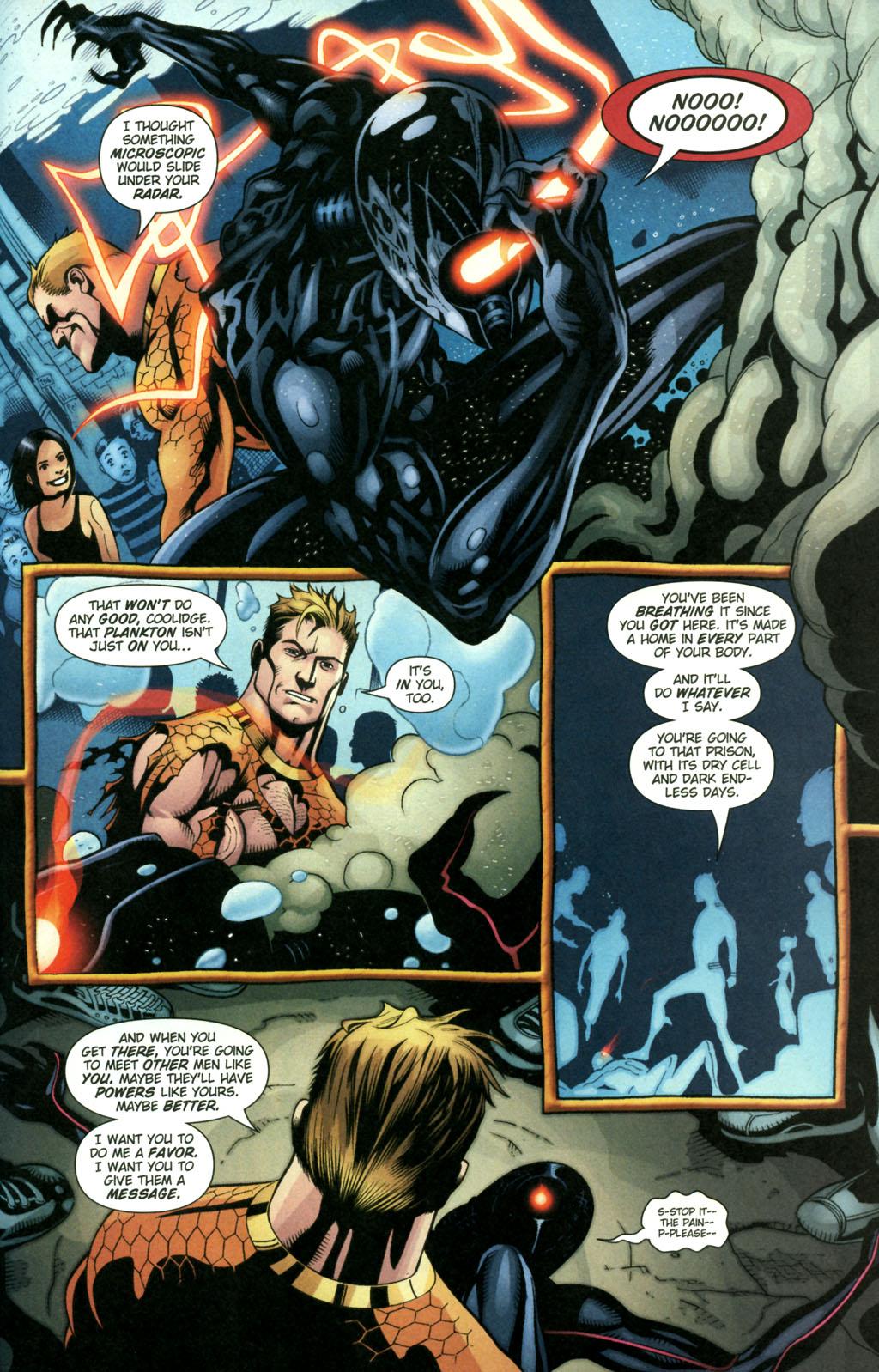 Read online Aquaman (2003) comic -  Issue #22 - 21