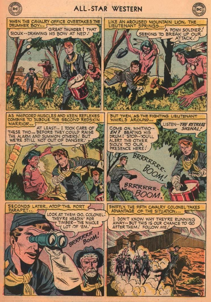 Read online All-Star Western (1951) comic -  Issue #87 - 23