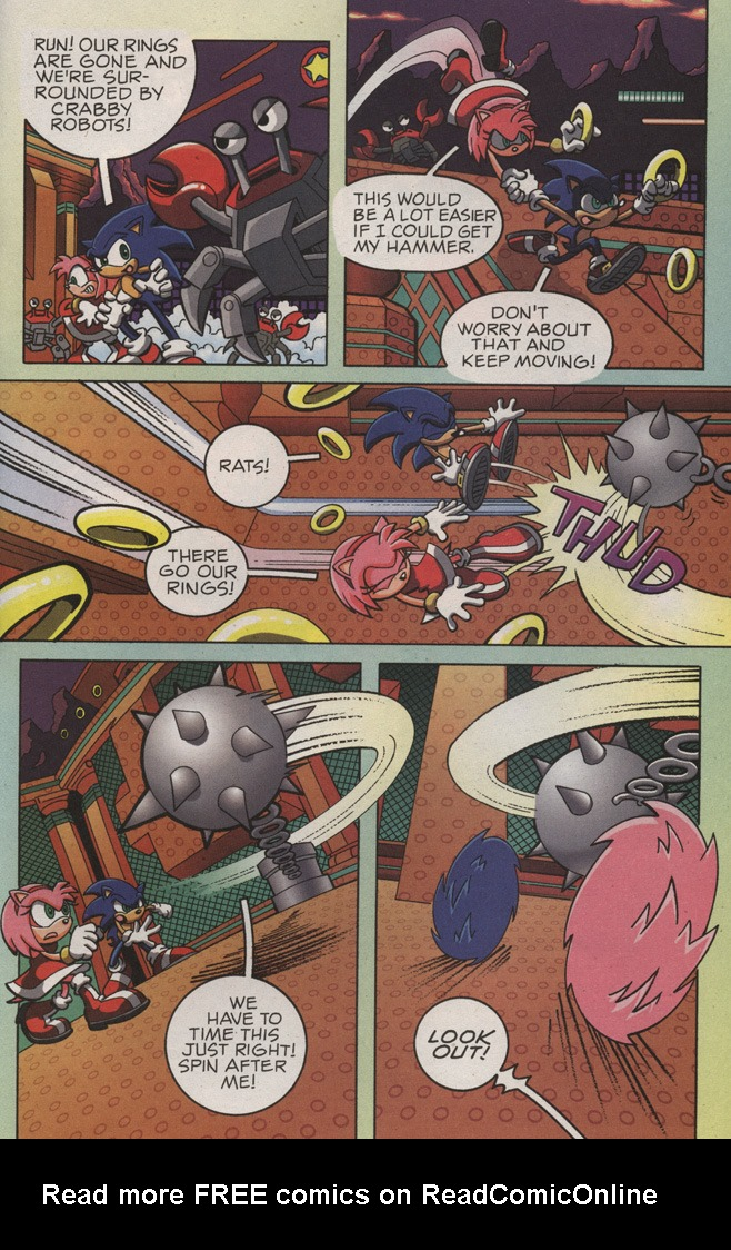 Read online Sonic X comic -  Issue #10 - 33