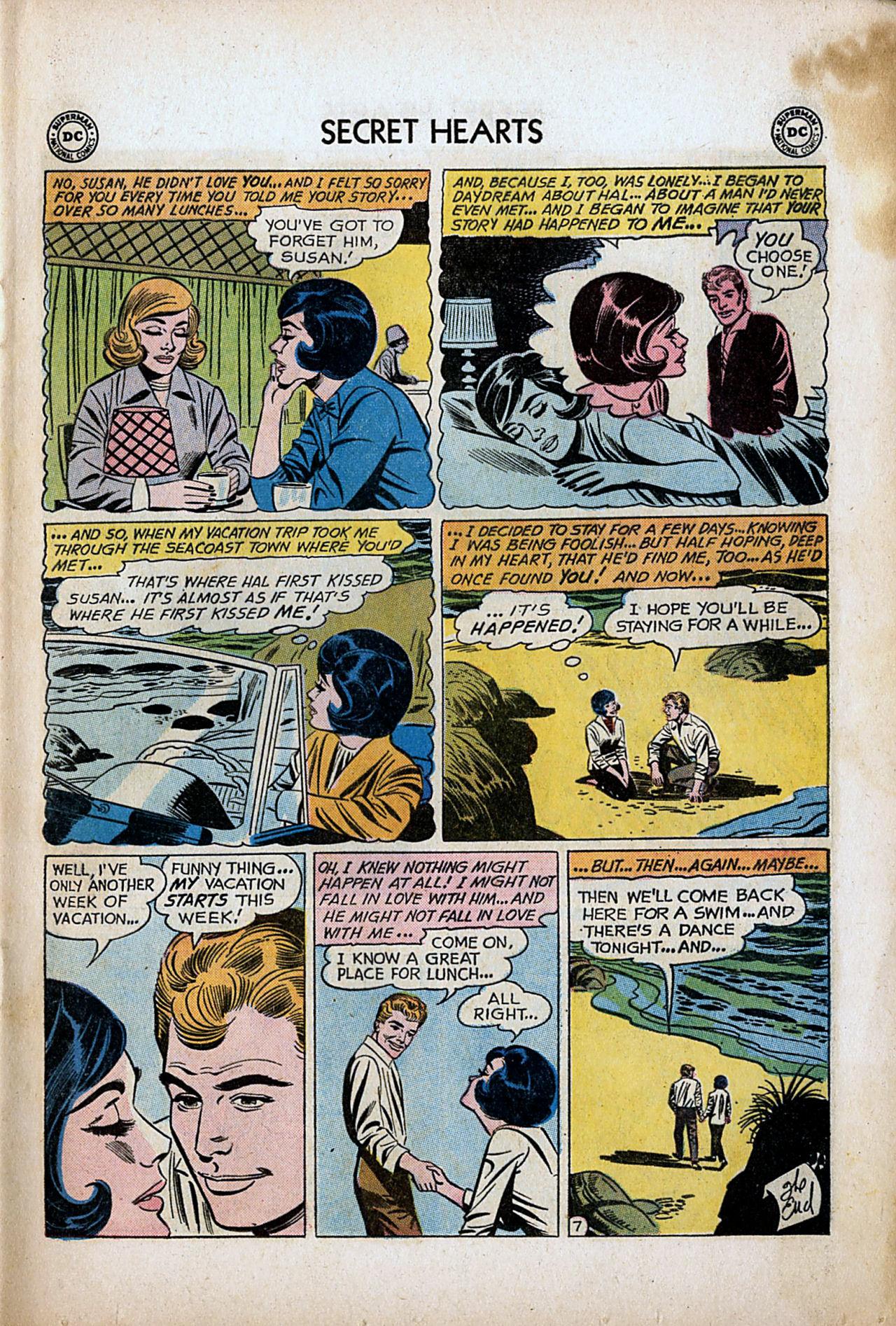 Read online Secret Hearts comic -  Issue #80 - 9