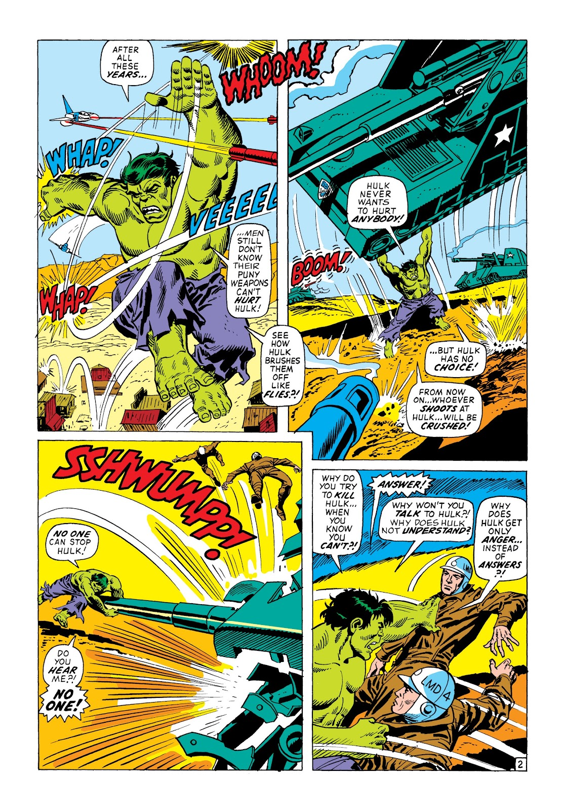 Read online Marvel Masterworks: The Incredible Hulk comic -  Issue # TPB 8 (Part 2) - 76
